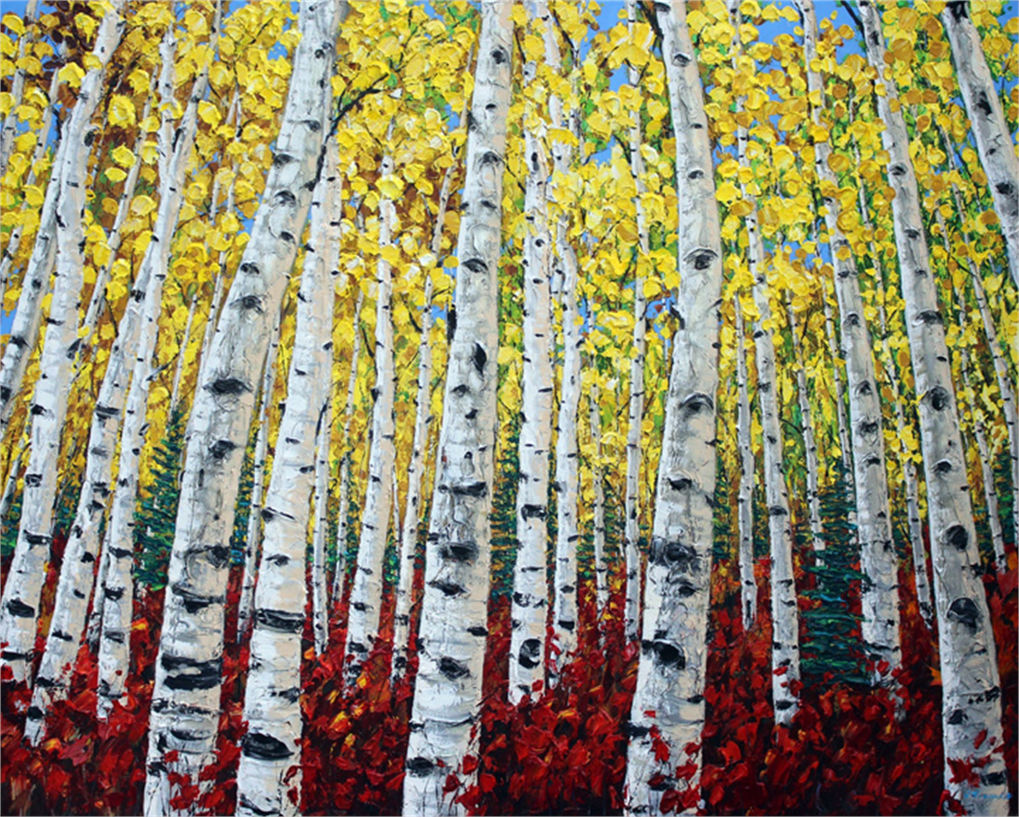 Autumn's Song by Jennifer Vranes