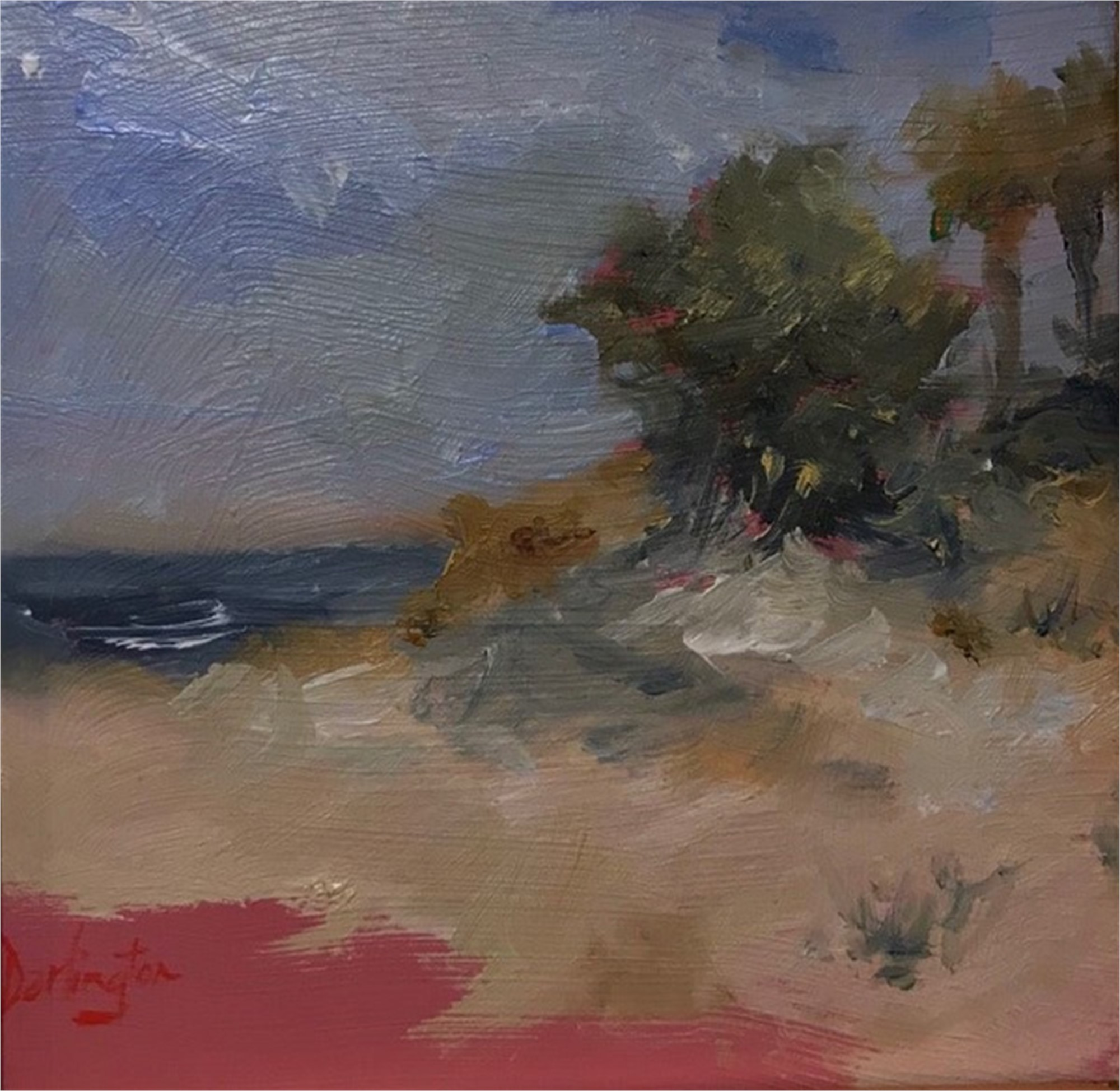 Summer Beach by Jim Darlington