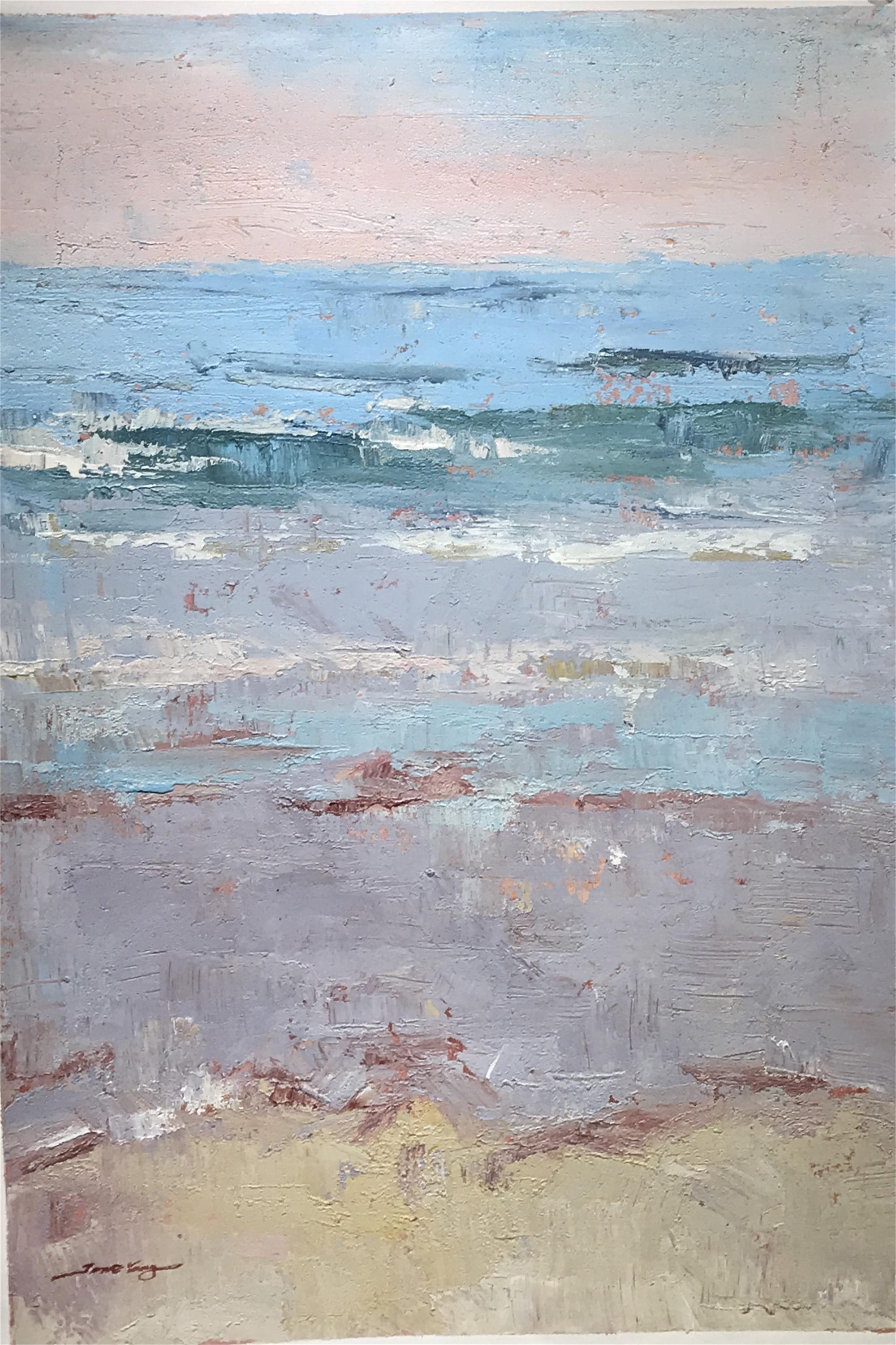 TEXTURED BEACH SCENE by YANG
