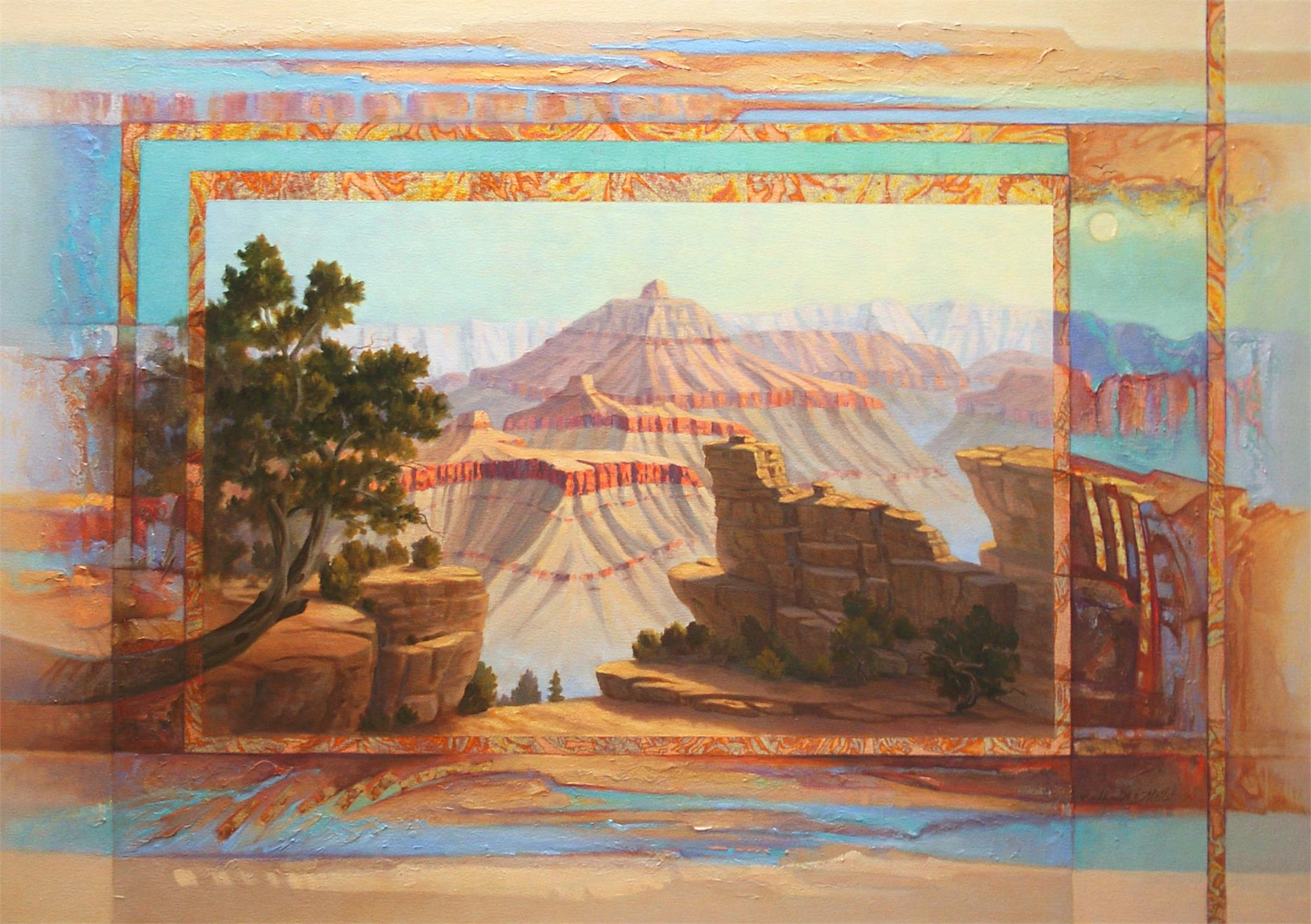 Morning Gentle Light (Grand Canyon) by Marlys Mallét & Michael Redhawk