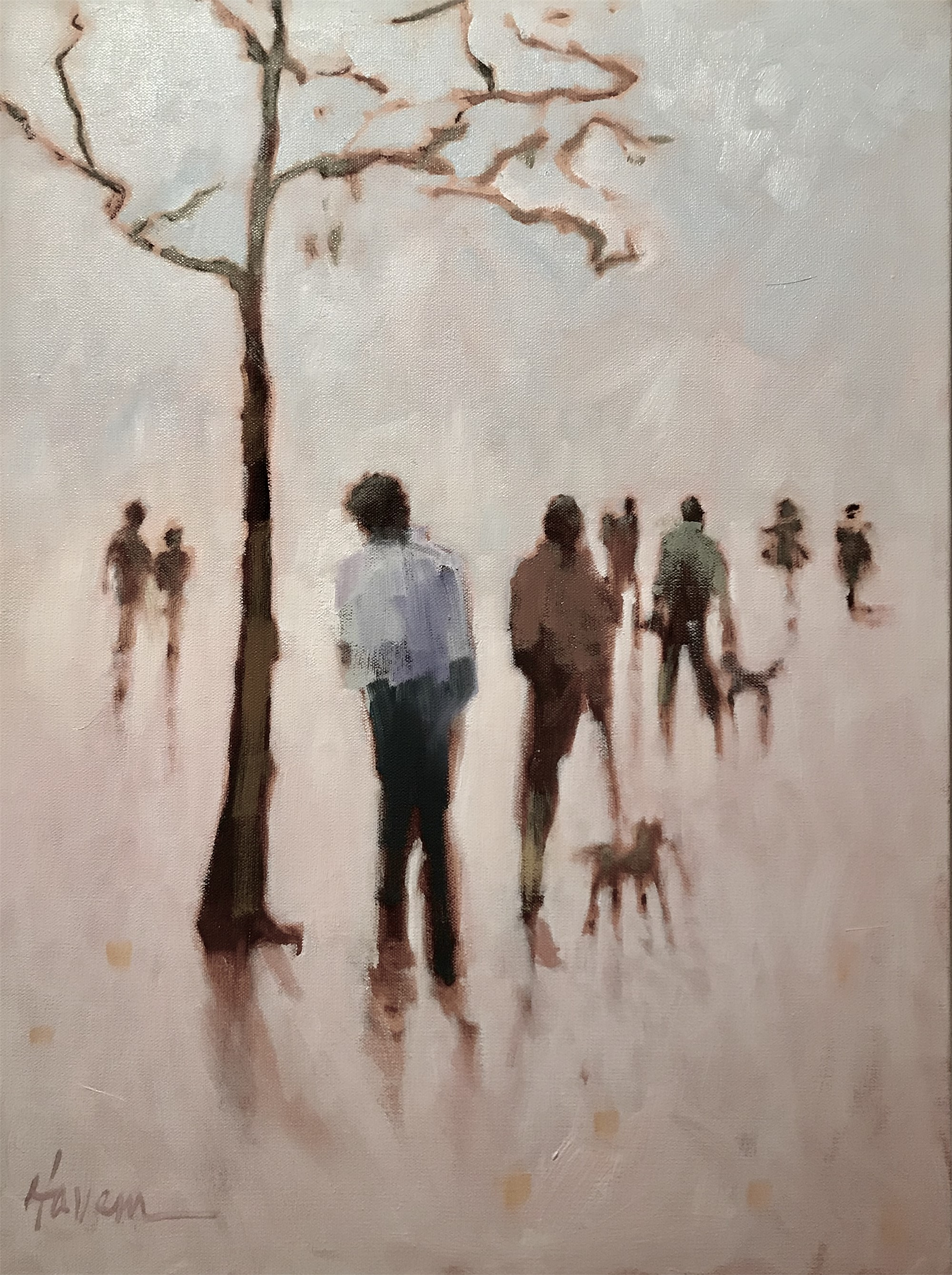 Walk the Park by Betsy Havens