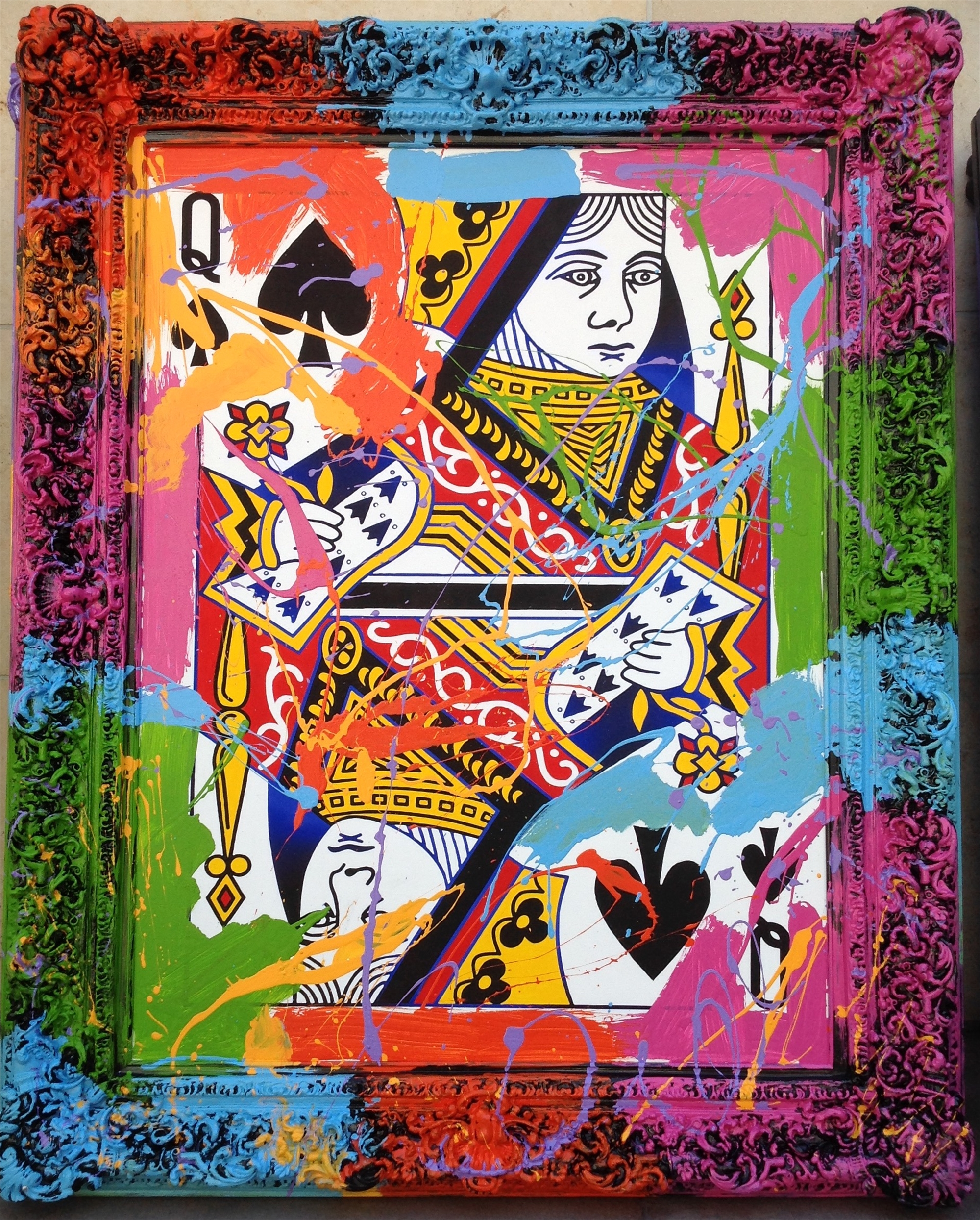 Queen of Spades by Elena Bulatova
