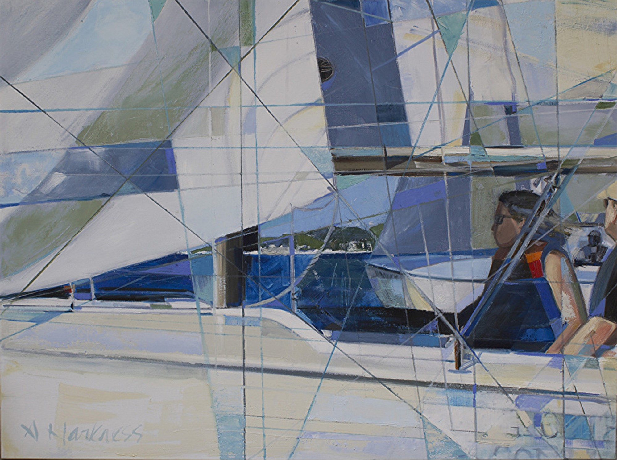 Lines on Boats by Anne Harkness