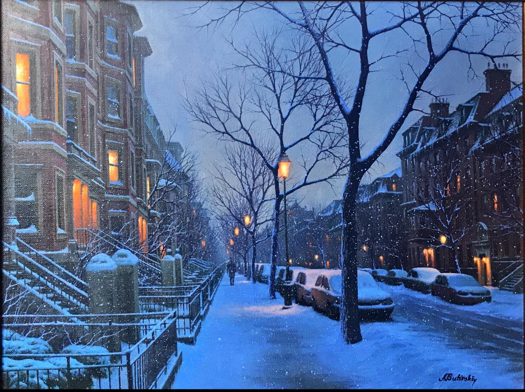South Boston Flurries by Alexei Butirskiy