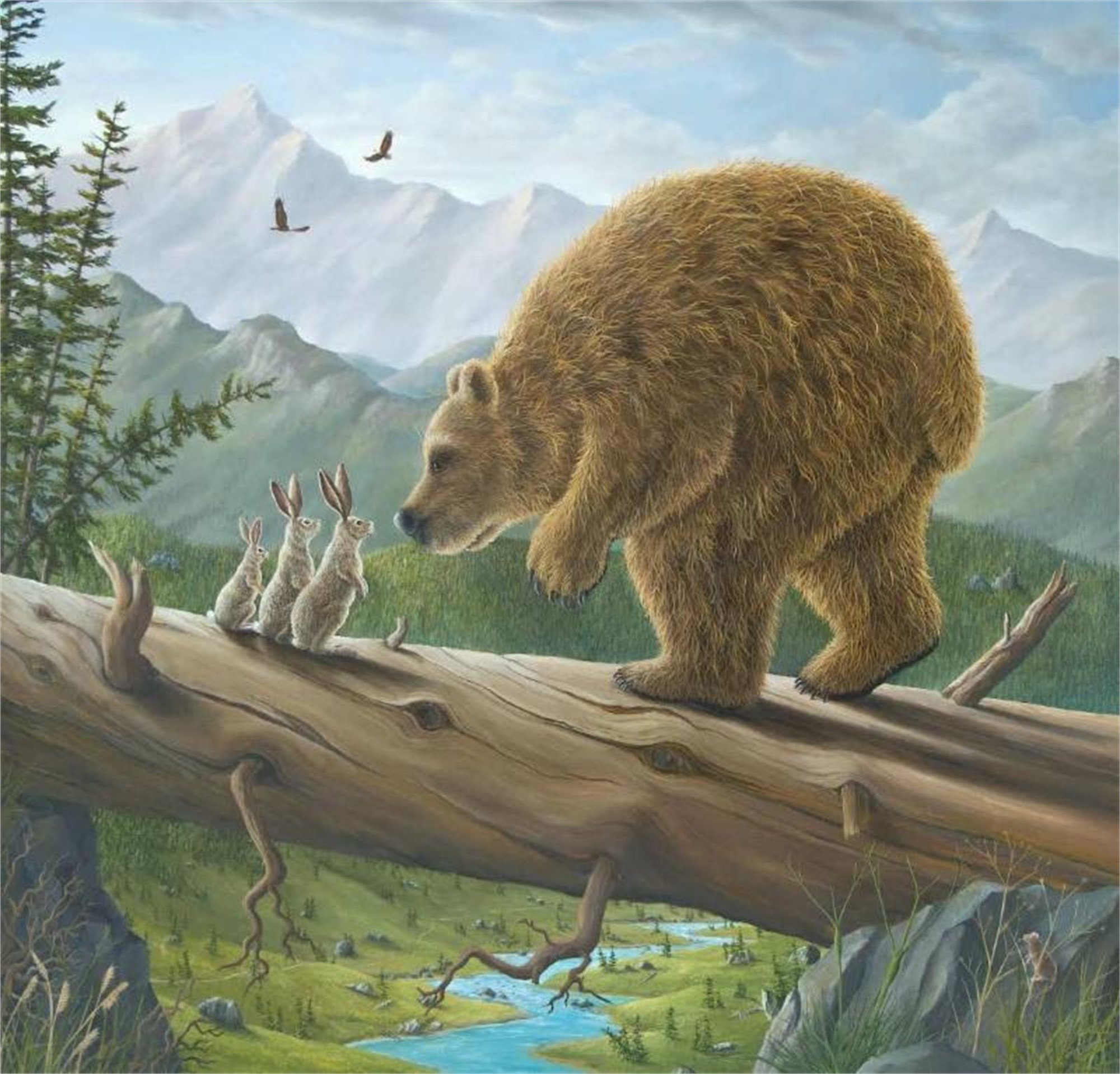 Encounter, The (Small Works) by Robert Bissell