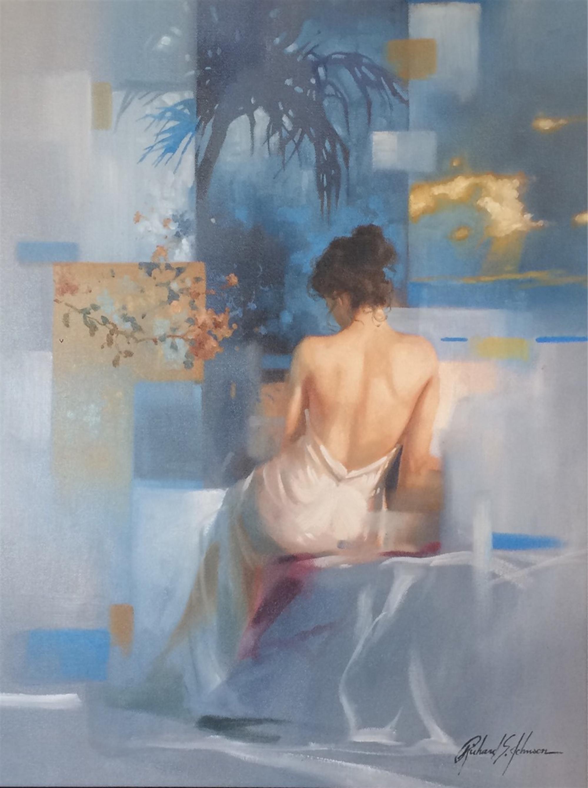 Blue Muse by Richard Johnson