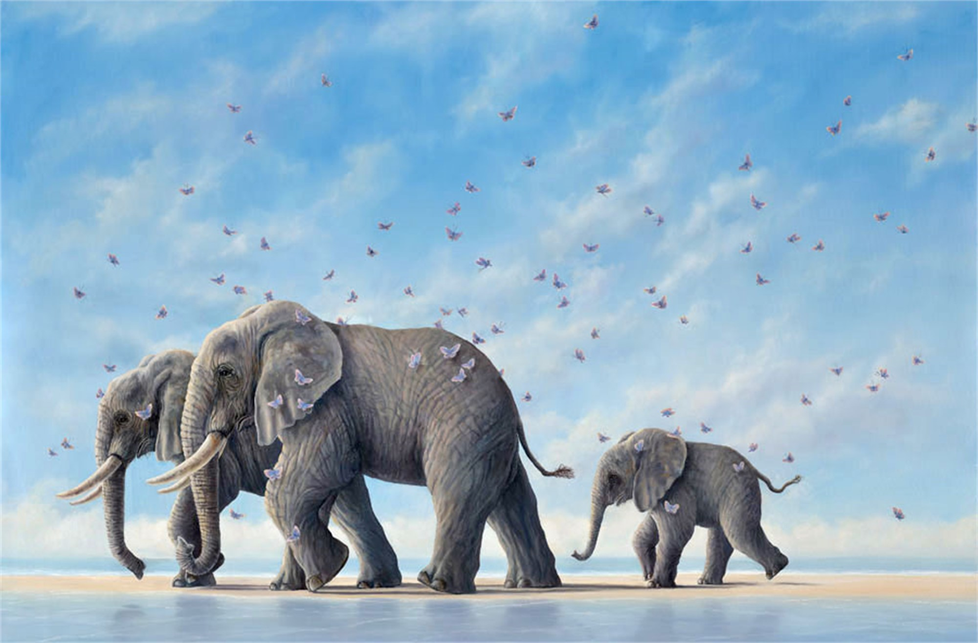 Voyagers (Small Works) by Robert Bissell