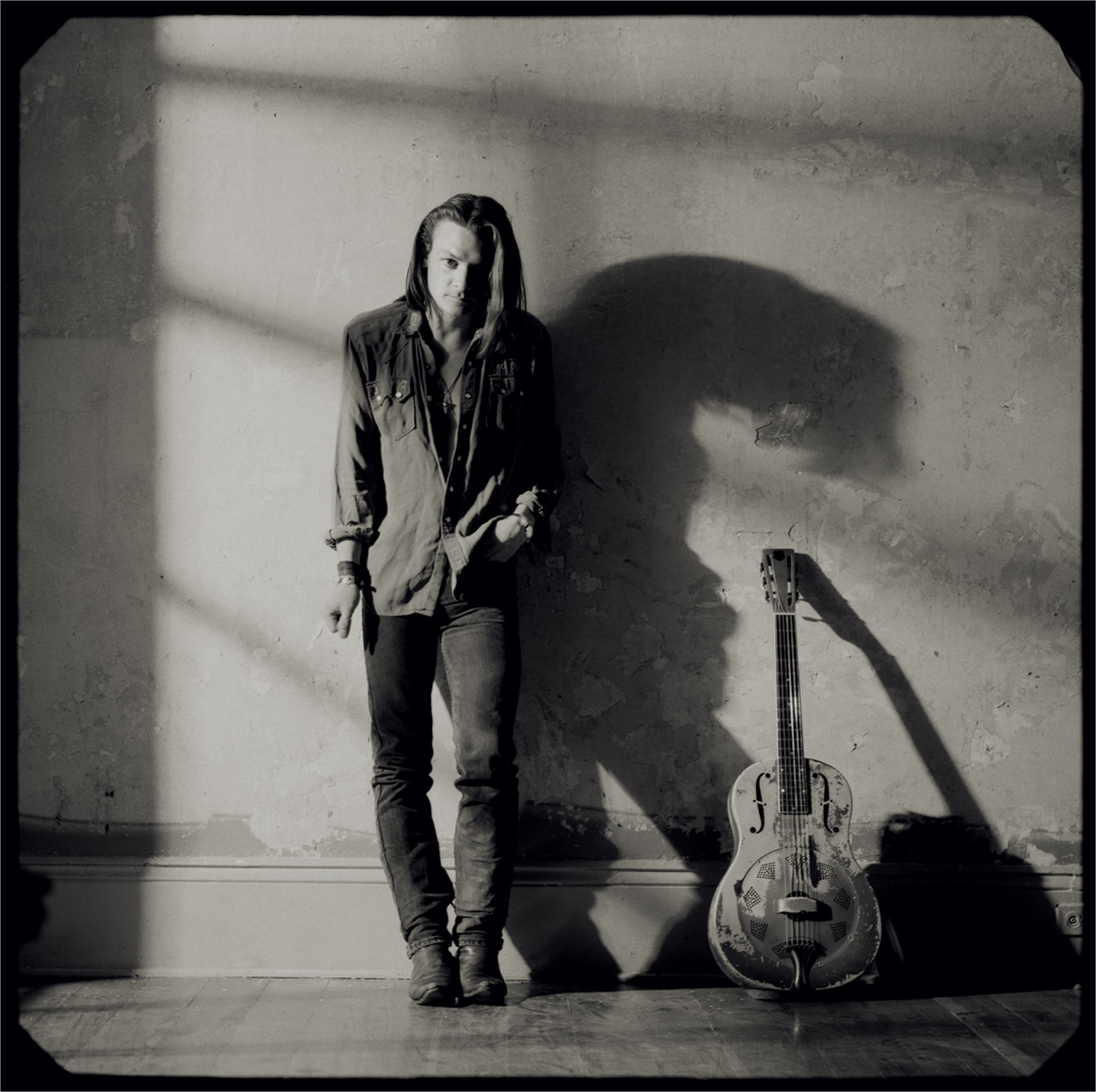 91026 Chris Whitley Against the Wall 3 BW by Timothy White
