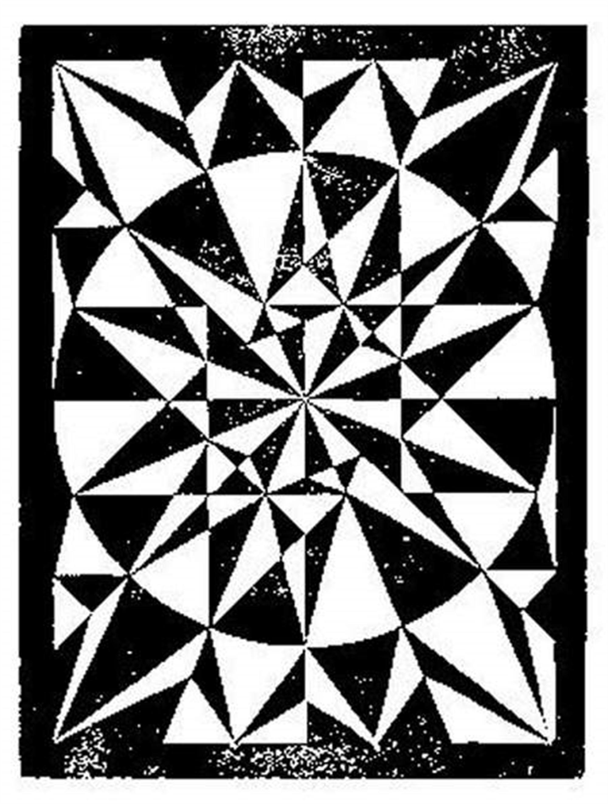 Flor de Pascua - Beautiful by M.C. Escher