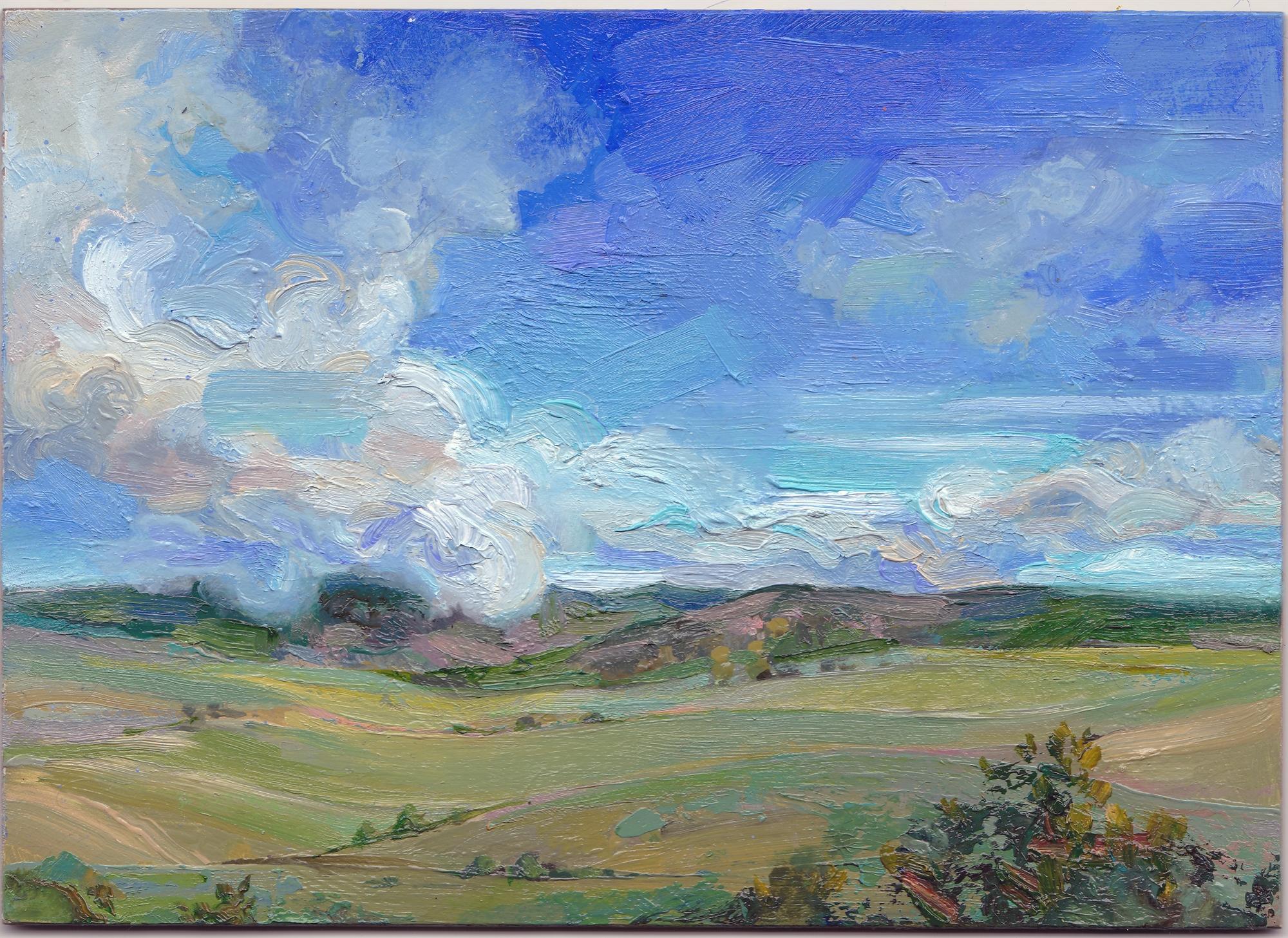 Skyline - Midday by Charis Carmichael Braun