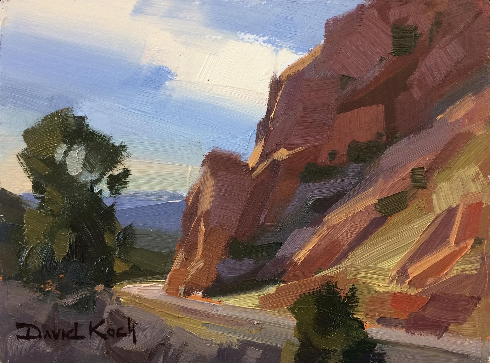 Cedar Canyon by David Koch