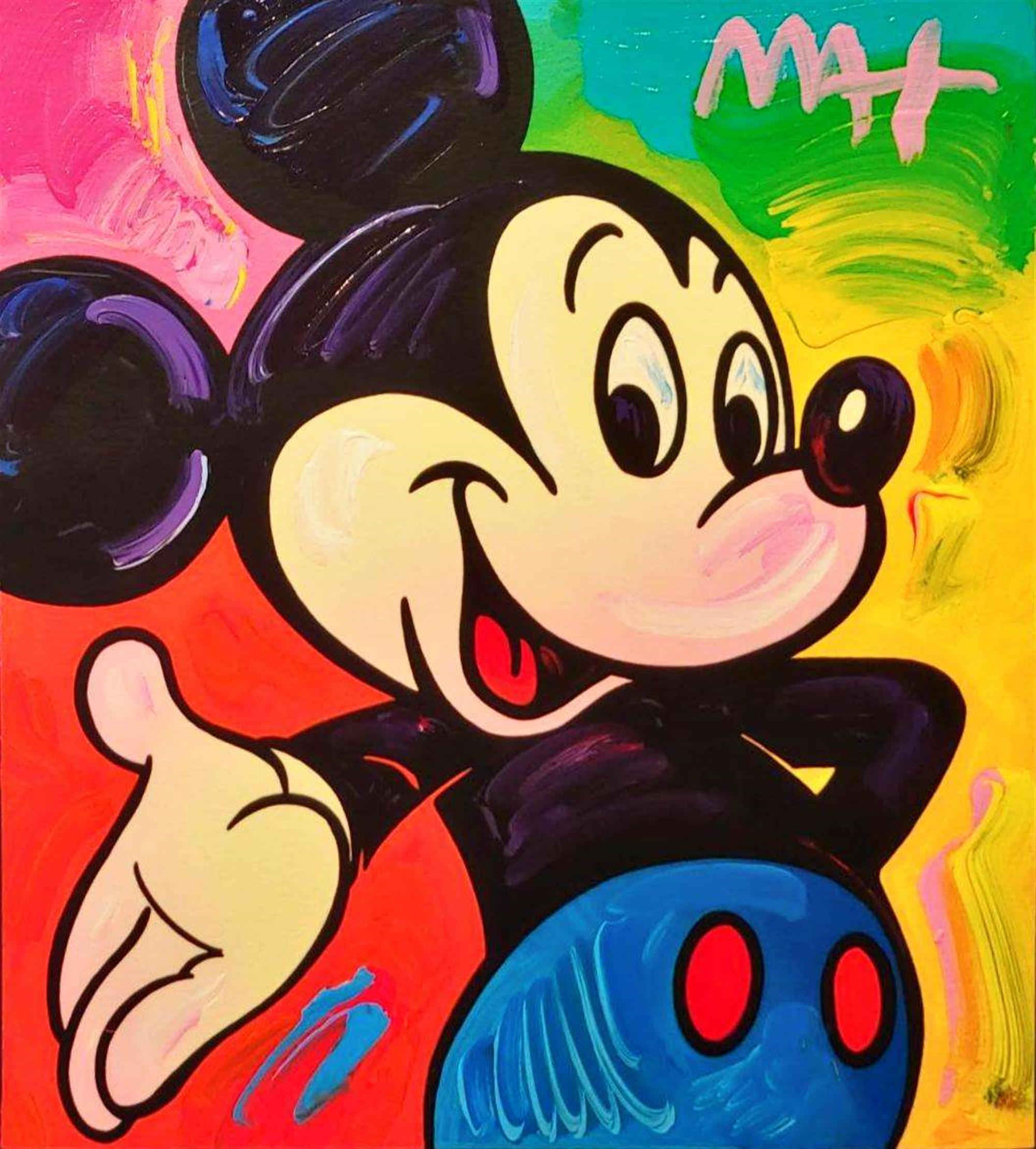MICKEY MOUSE by Peter Max