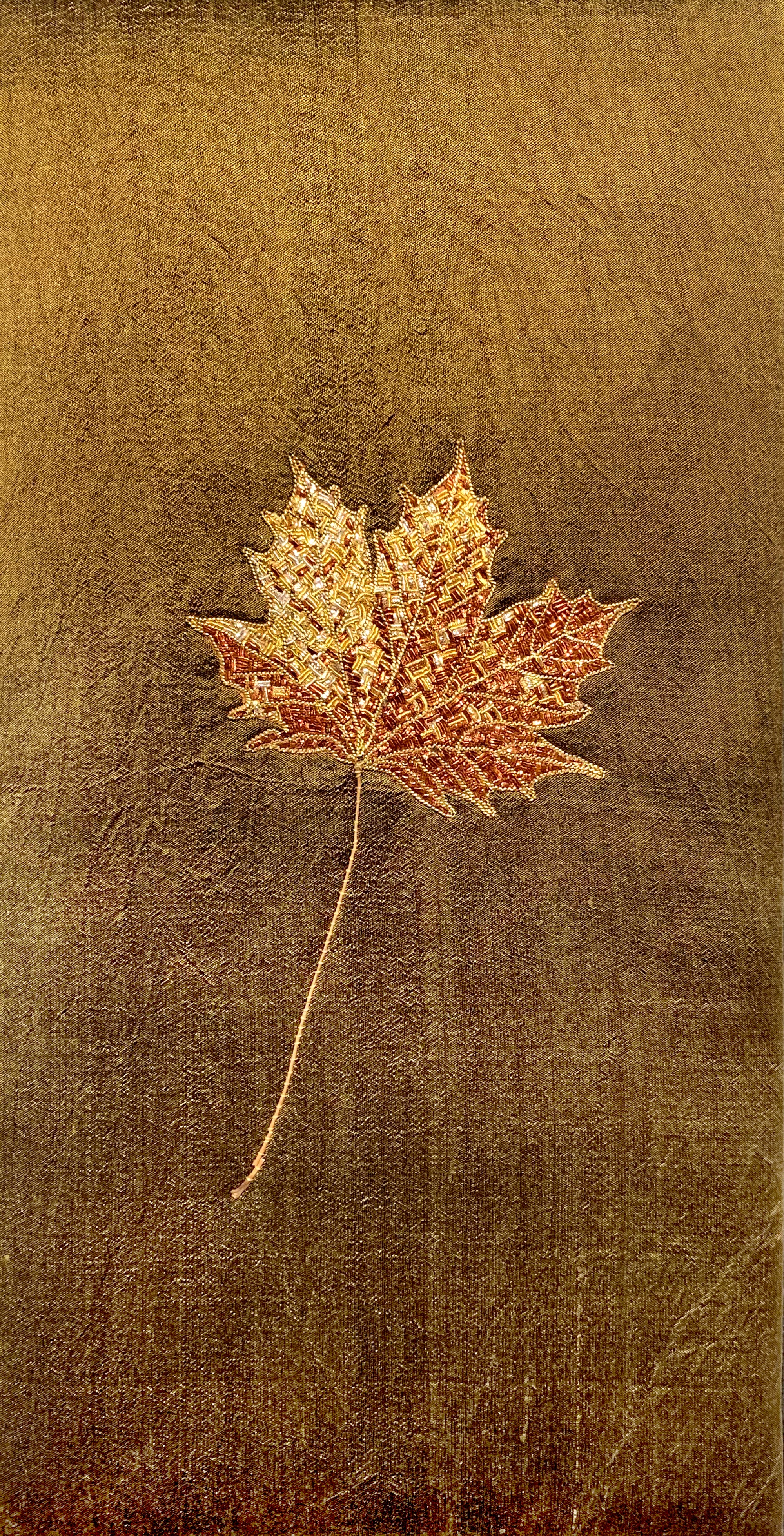 Autumn IV: Montreal Maple Leaf by Tiao Nithakhong Somsanith