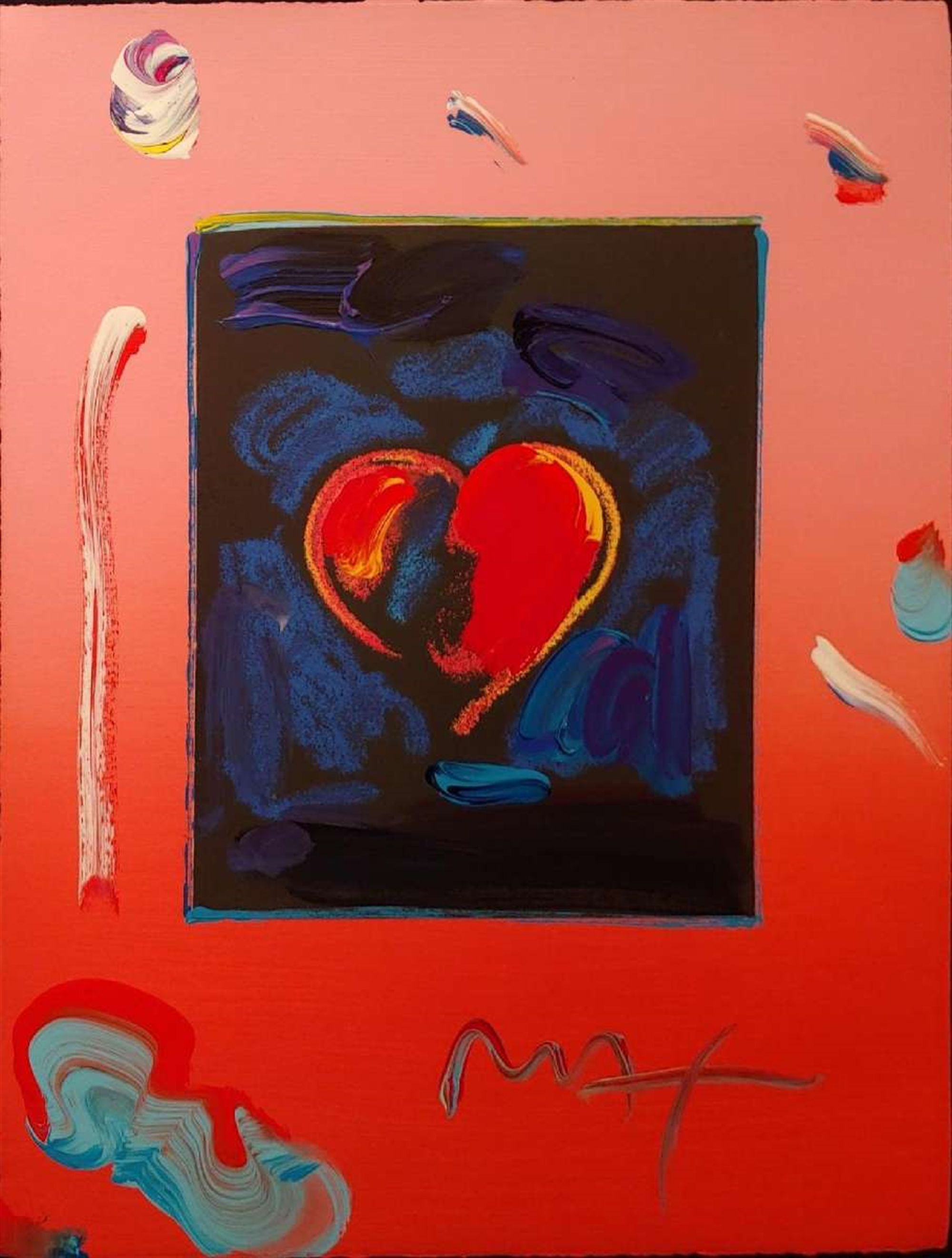 ROMANCE SUITE: HEART by Peter Max