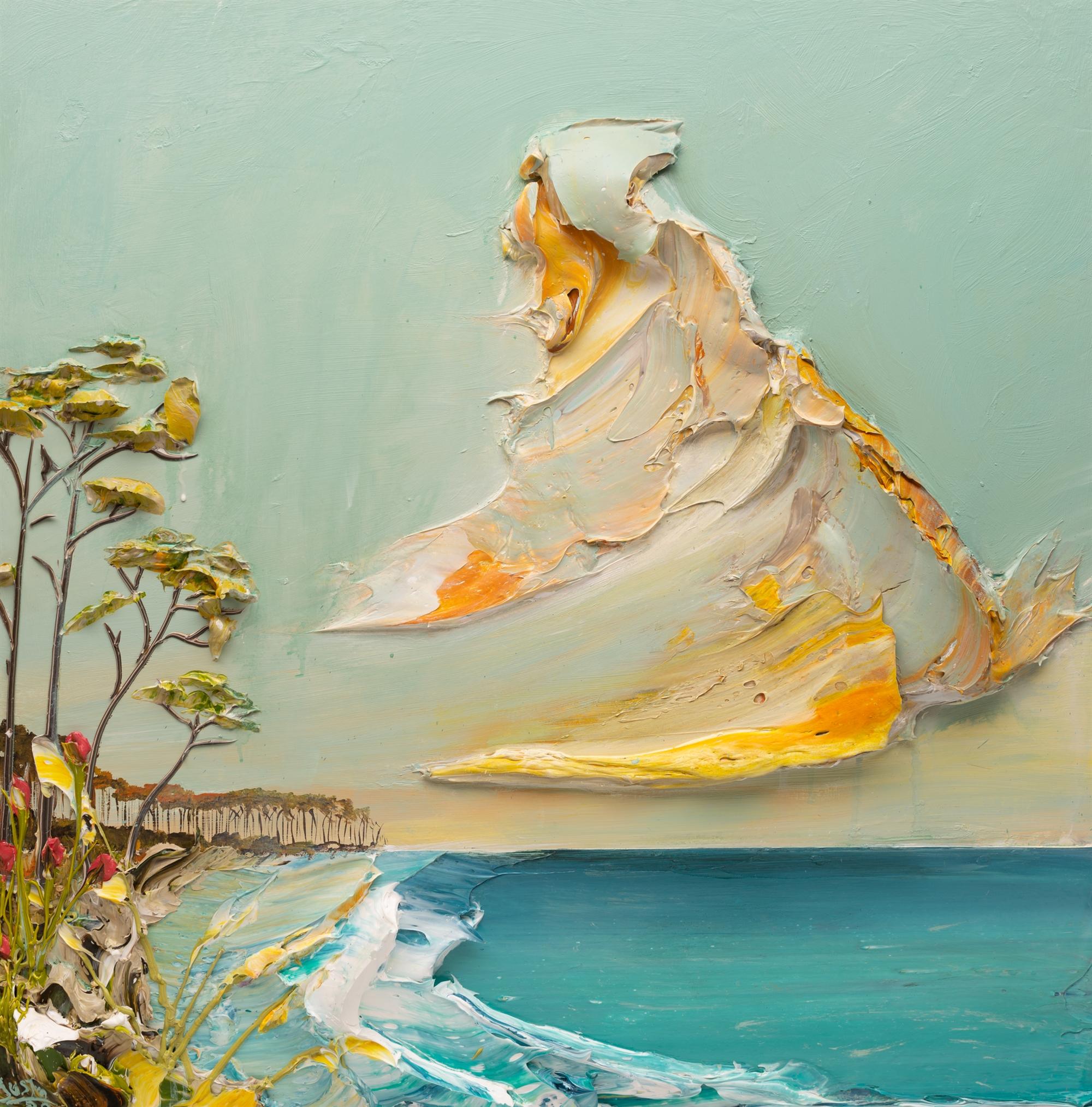SEASCAPE SS-36X36-2020-003 by JUSTIN GAFFREY