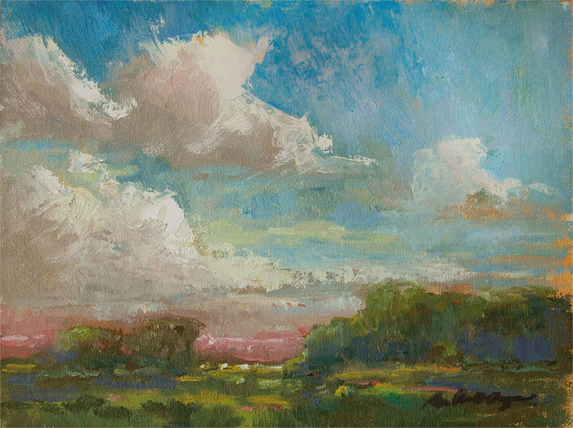 A Break In the Clouds by Karen Hewitt Hagan