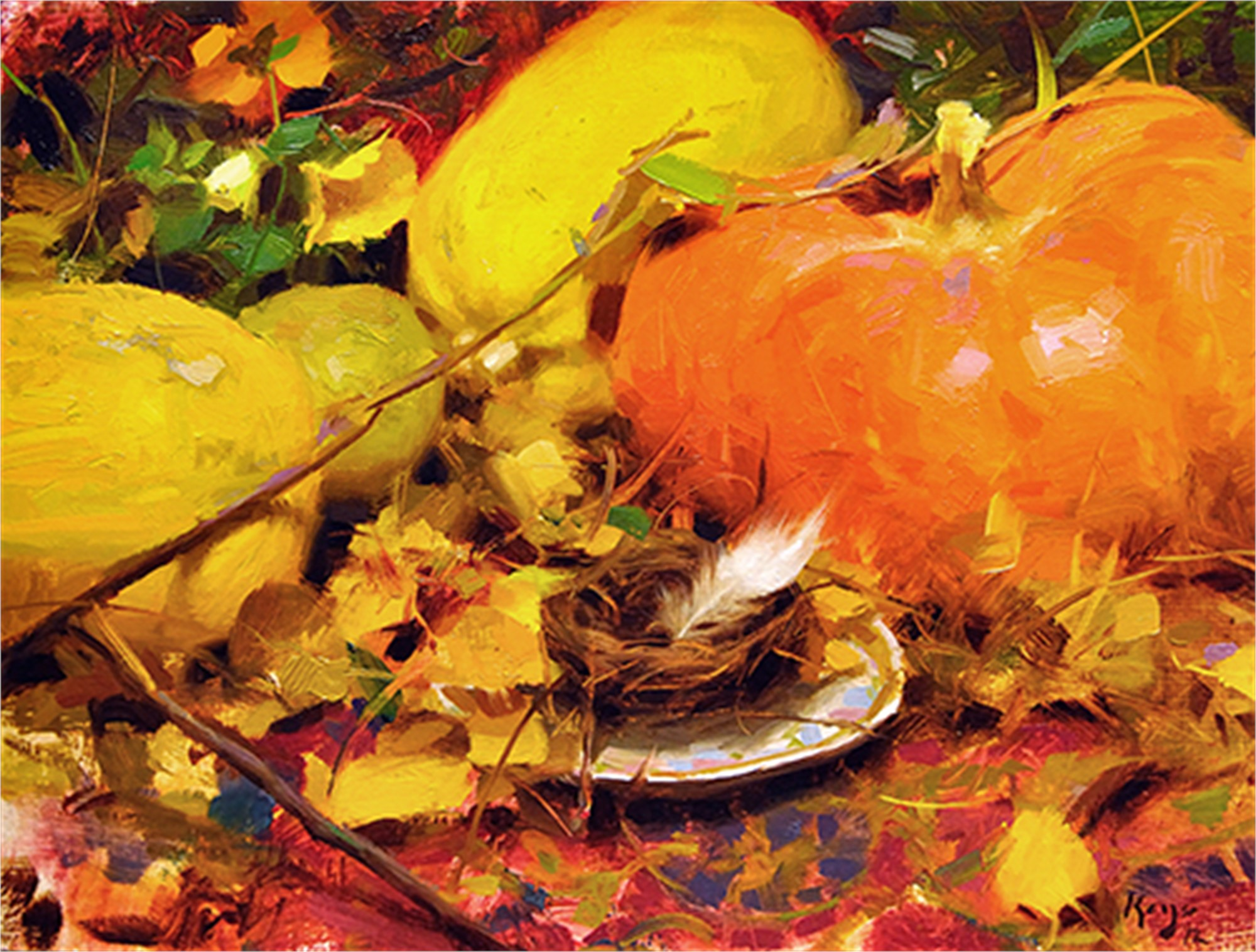 Autumn Nest by Daniel Keys