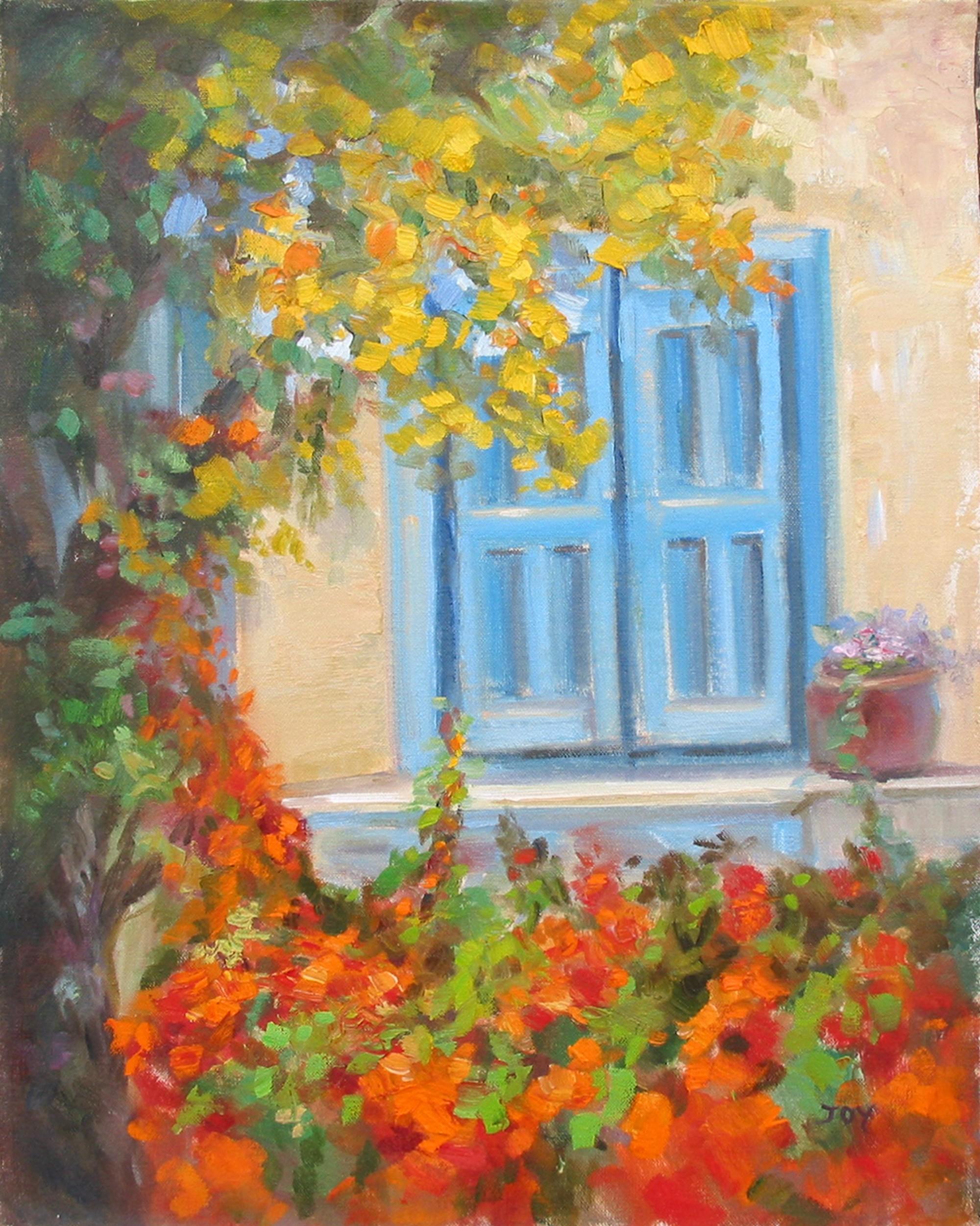 BLUE WINDOW by JOY