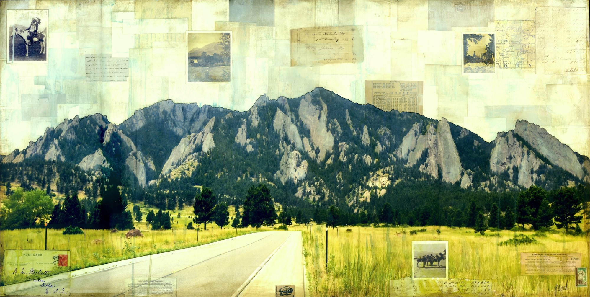 Road to Flatirons by JC Spock