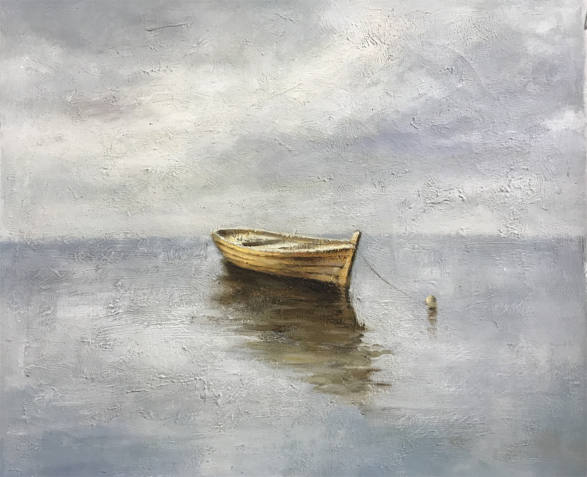 MOORED BOAT by VARIOUS WORKS
