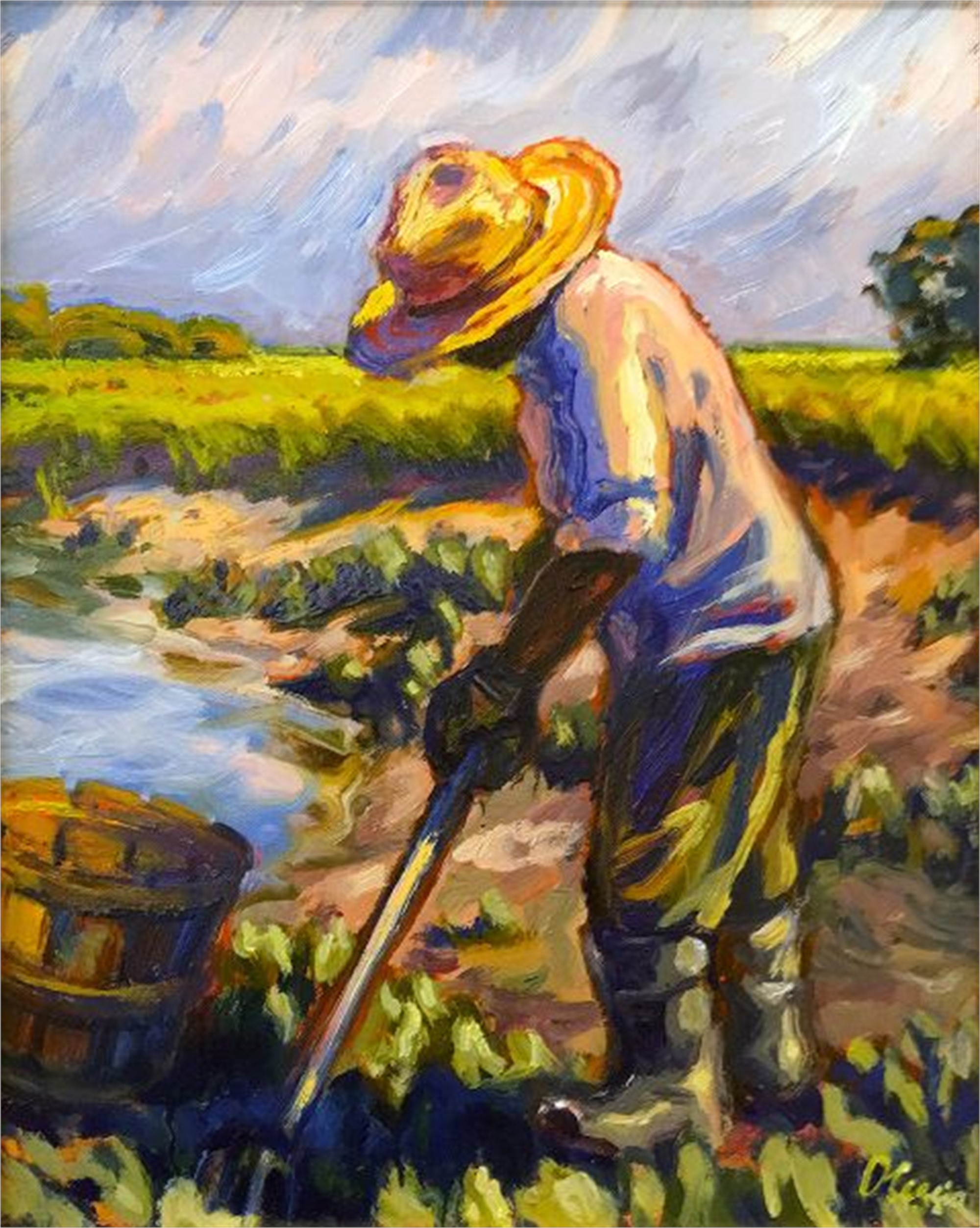 Pickin' Before the Storm by Olessia Maximenko