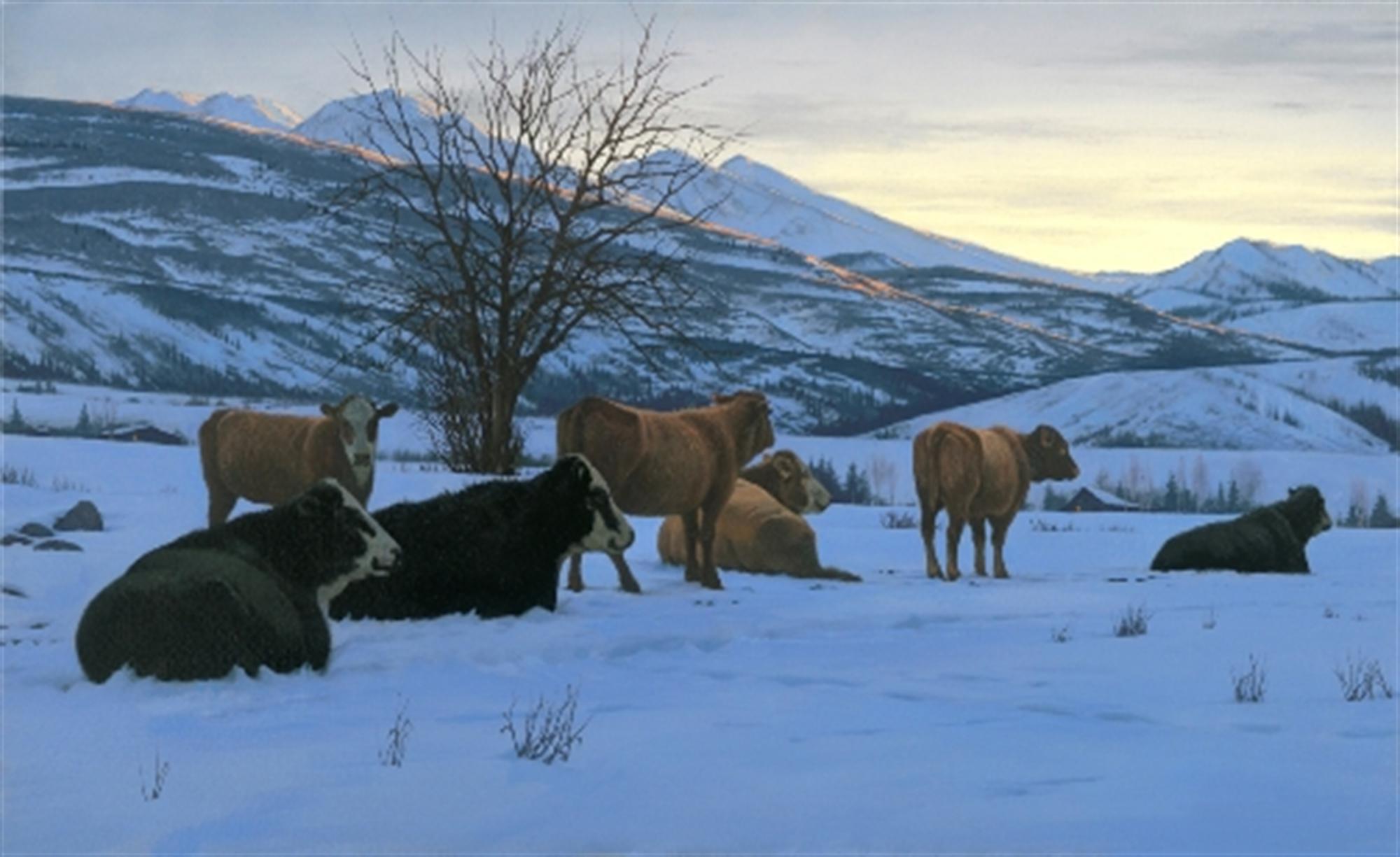 Winter Sentinels by Alexei Butirskiy