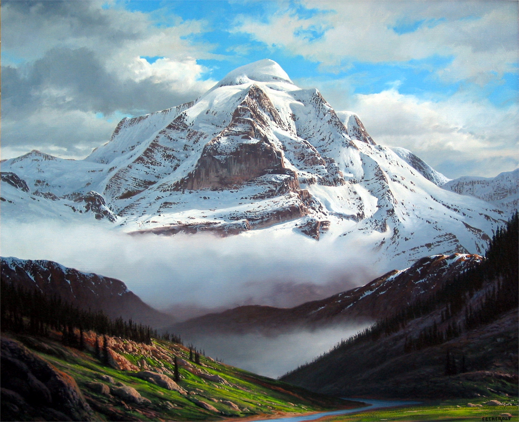 CANADIAN ROCKIES by FETHEROLF