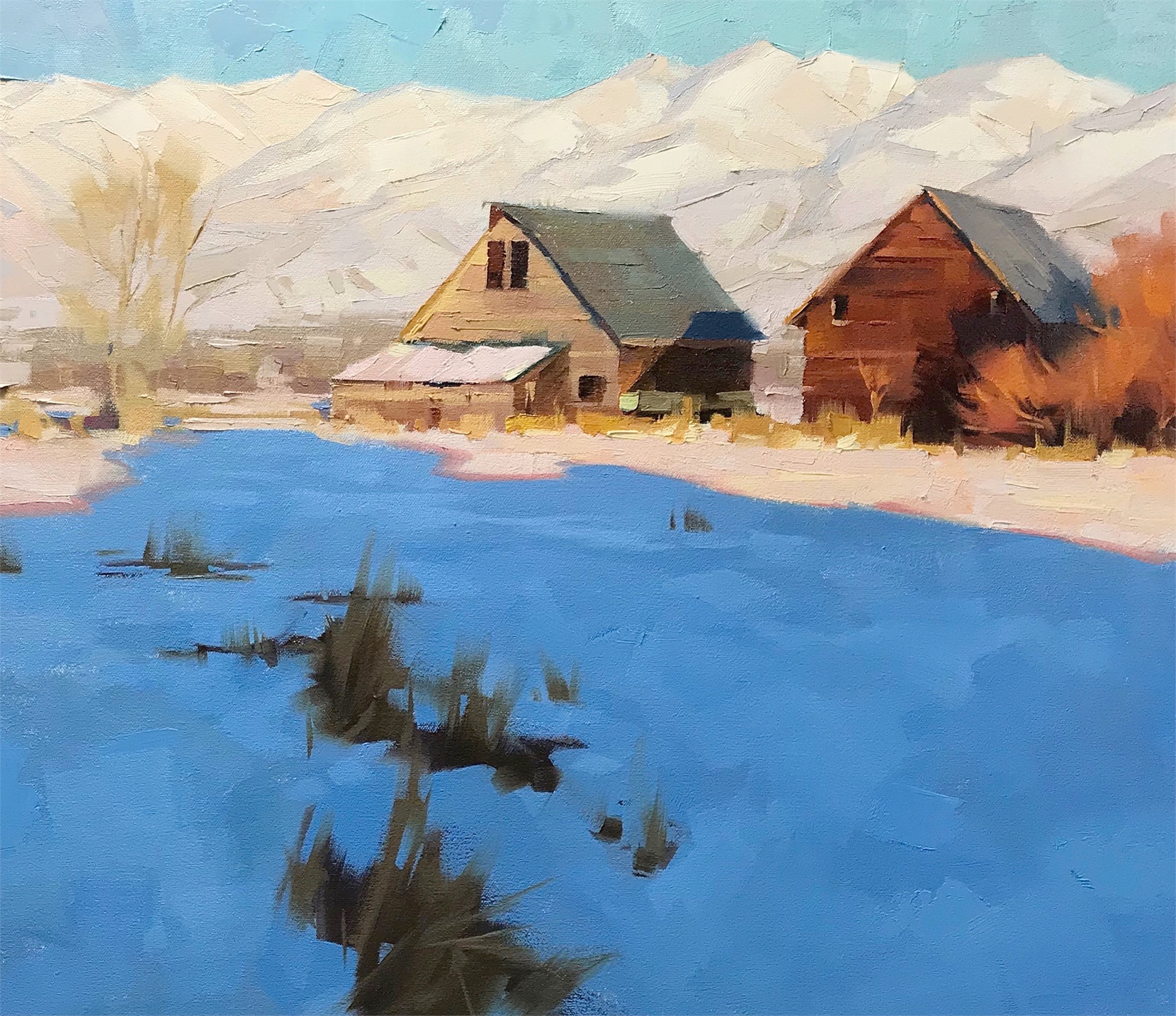Sister Barns by David Koch