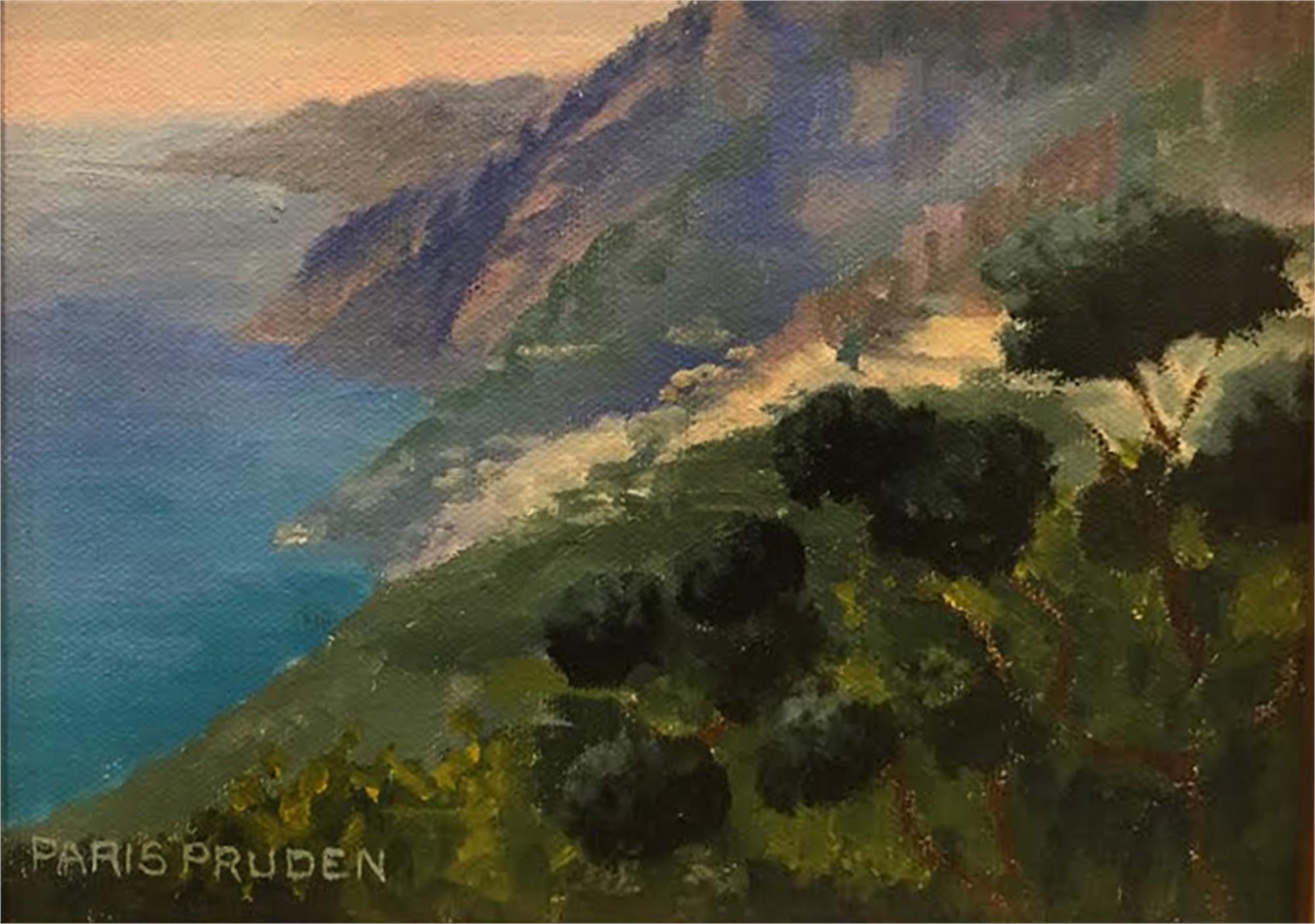 Road To La Tagliata, 10/8/16 by Nancy Paris Pruden