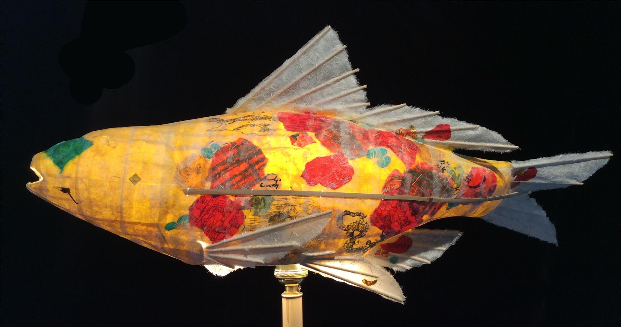 Saffron Joy Koi by Elaine Hanowell