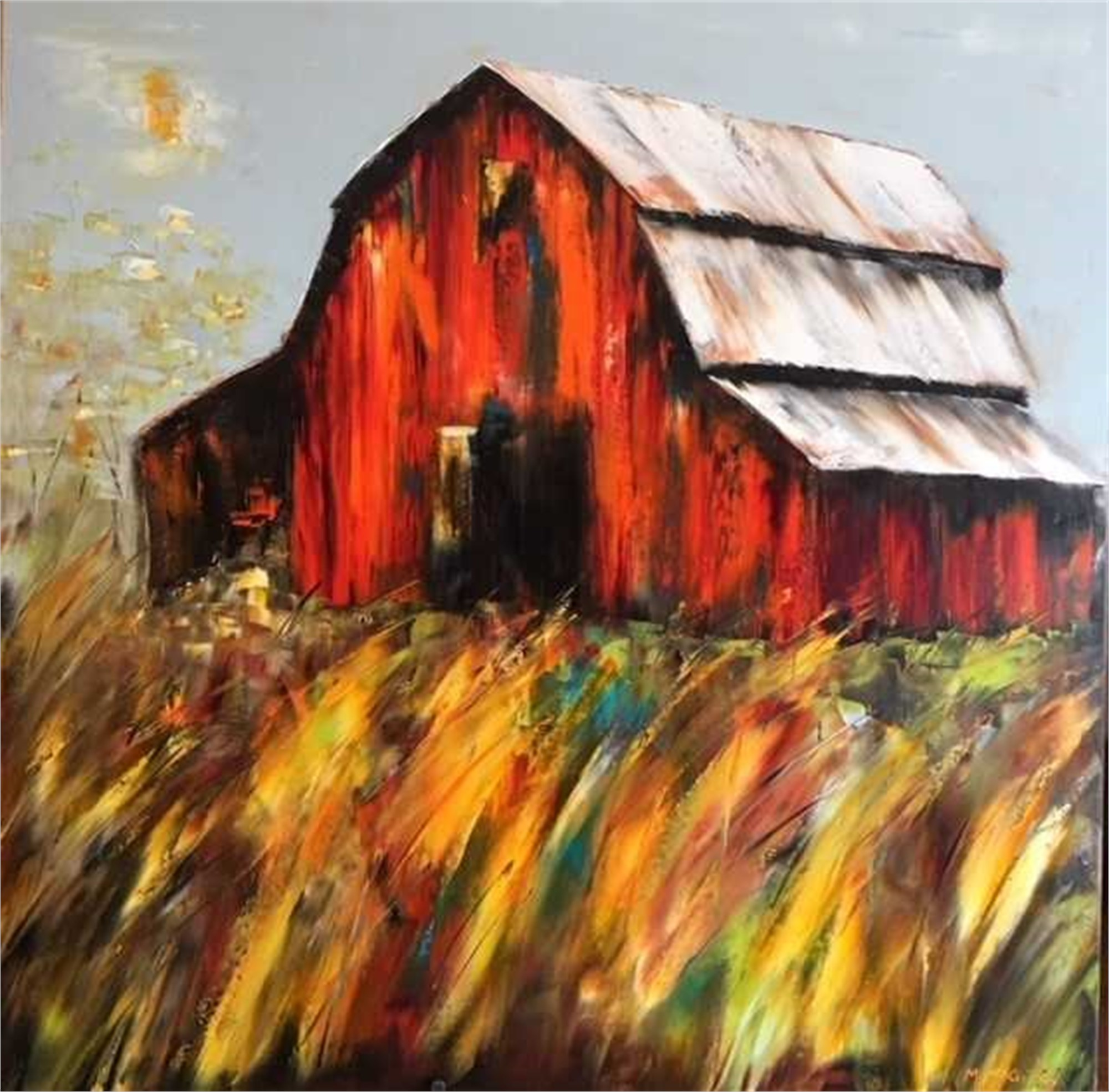 Hidden Hollow Farm by Marilyn Sparks