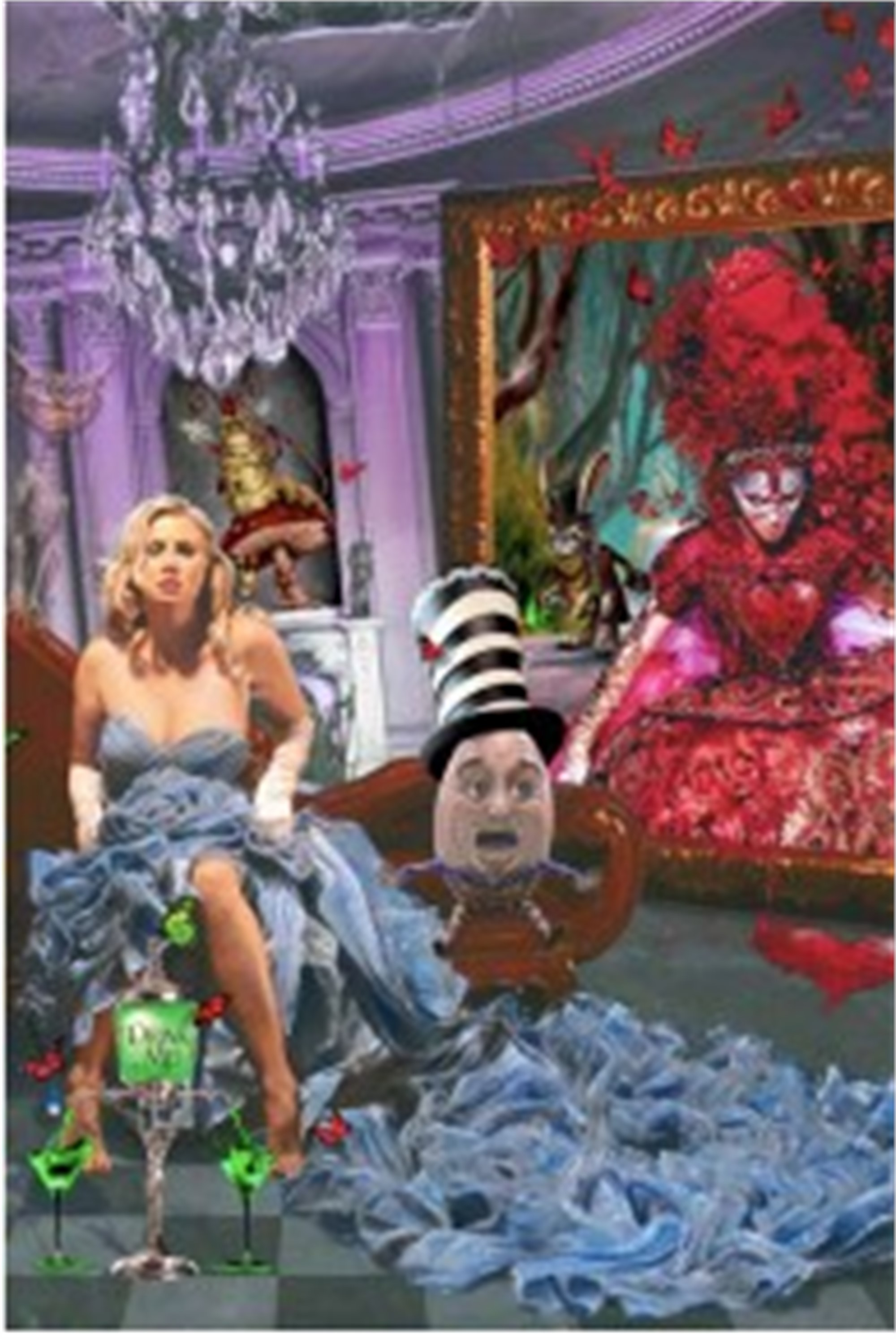 Alice - Drink Me- Absinthe Makes the Heart Grow Fonder by Adam Scott Rote