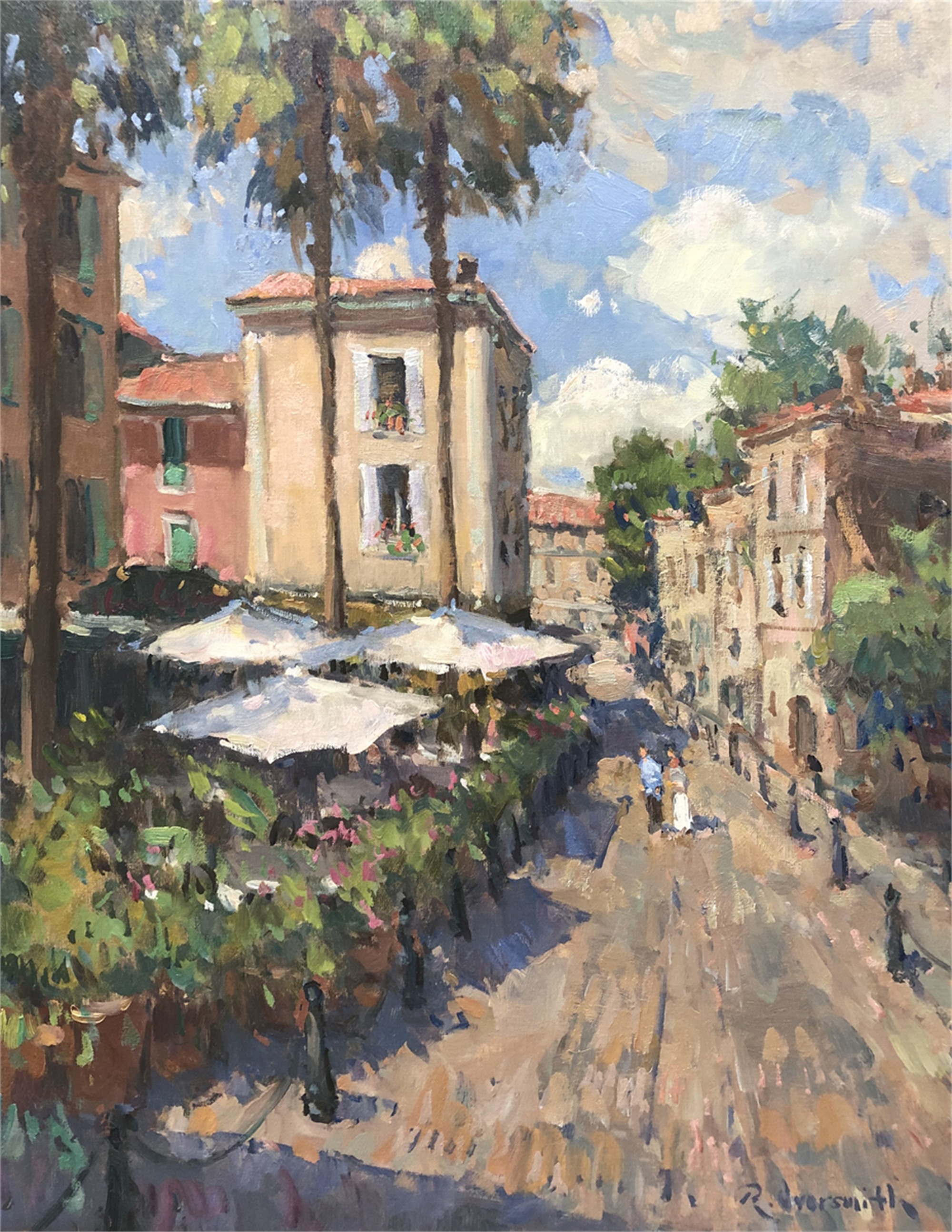 In the Provence Sun by Richard Oversmith