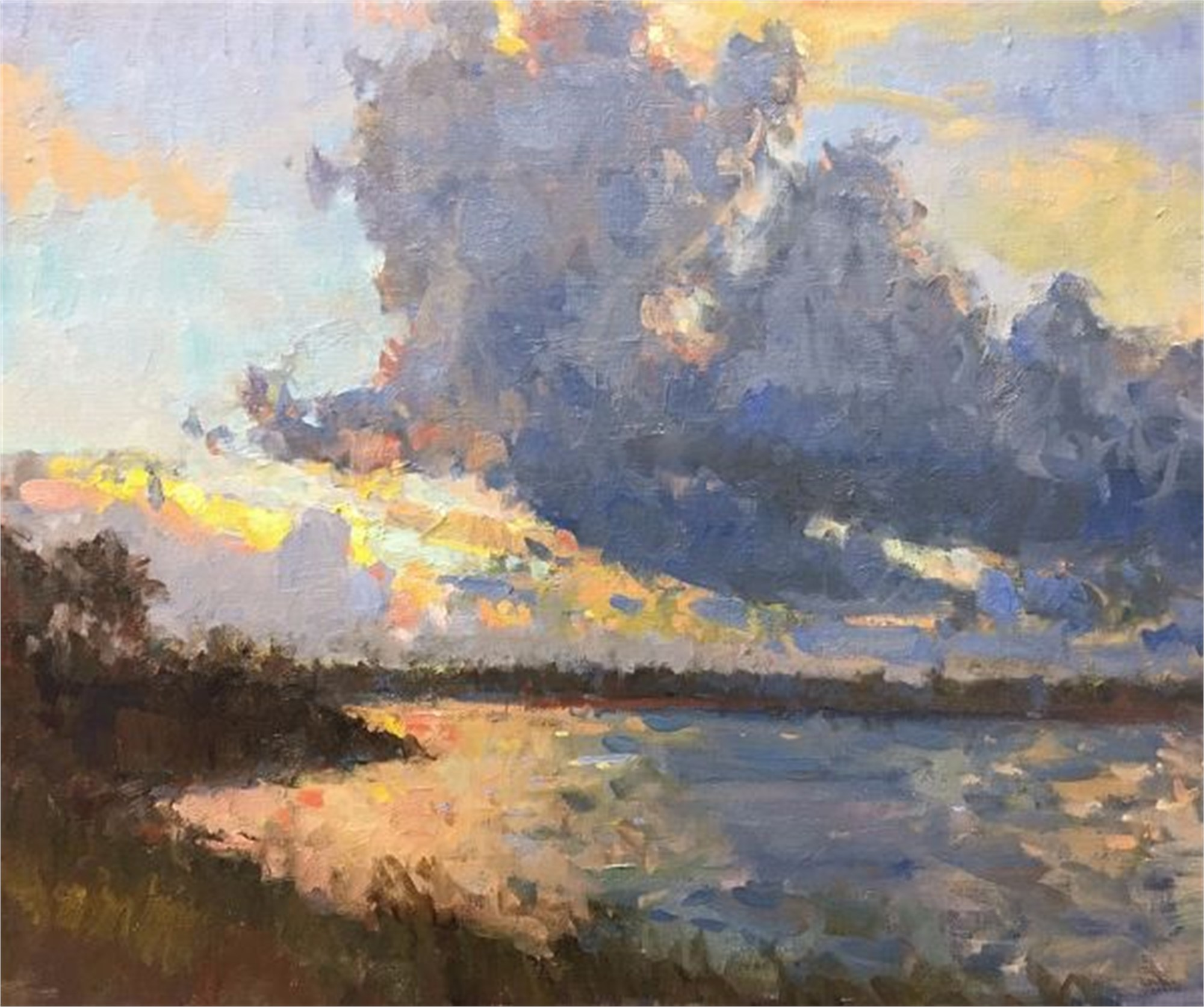 Passing Storm by Richard Oversmith