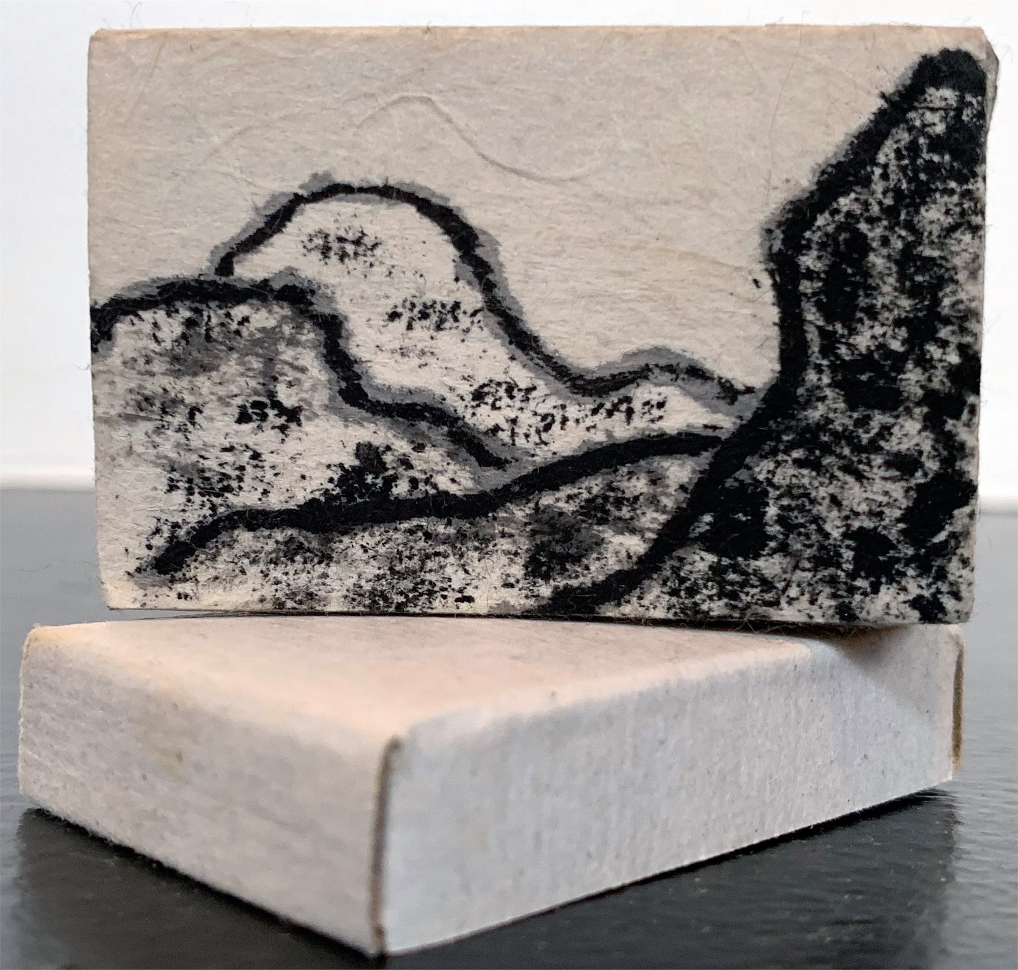 Mountain Visions matchbox 2 by Donald Cole