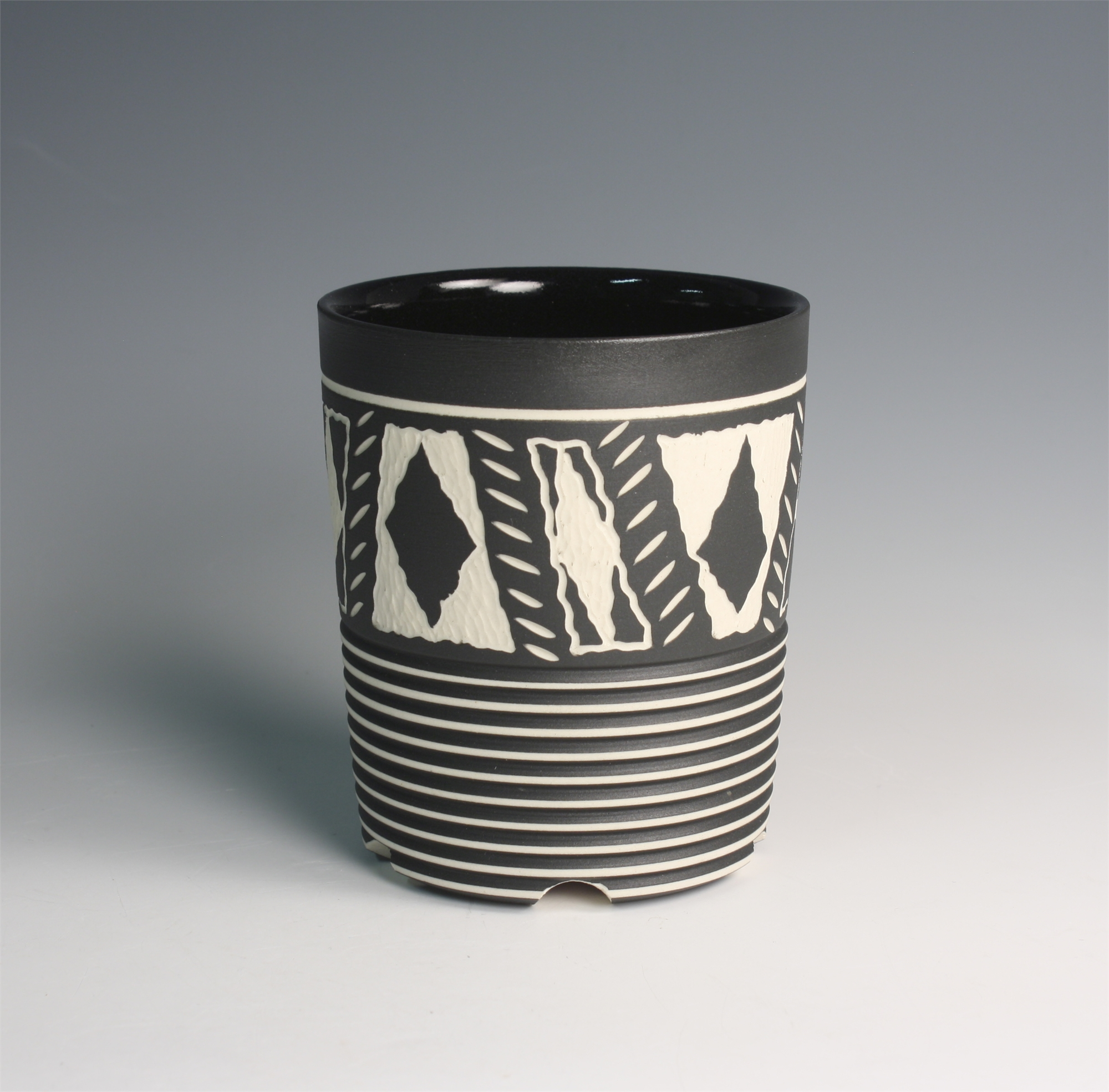 Cup (Black Diamonds) by Chris Casey