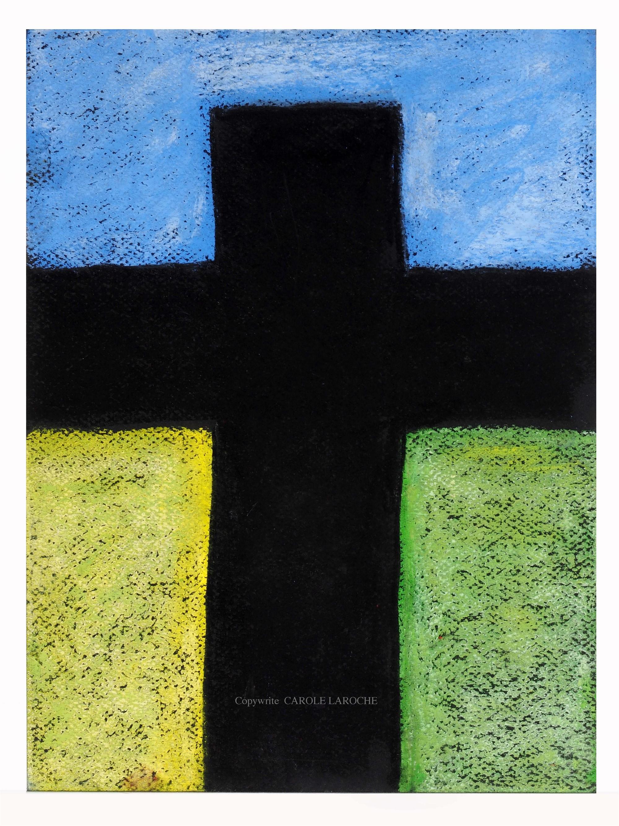 LAS CRUCES II by Carole LaRoche
