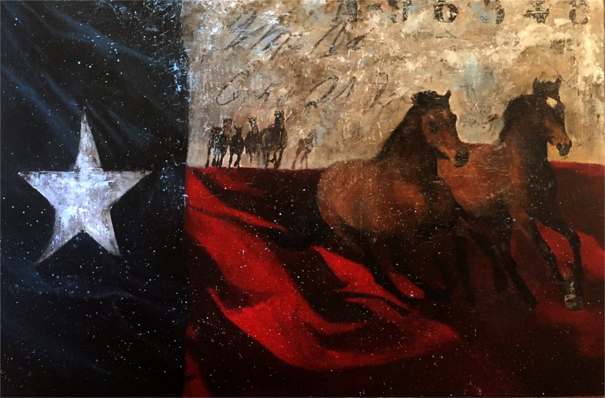 Lonestar Flag by Brian Liebenthal