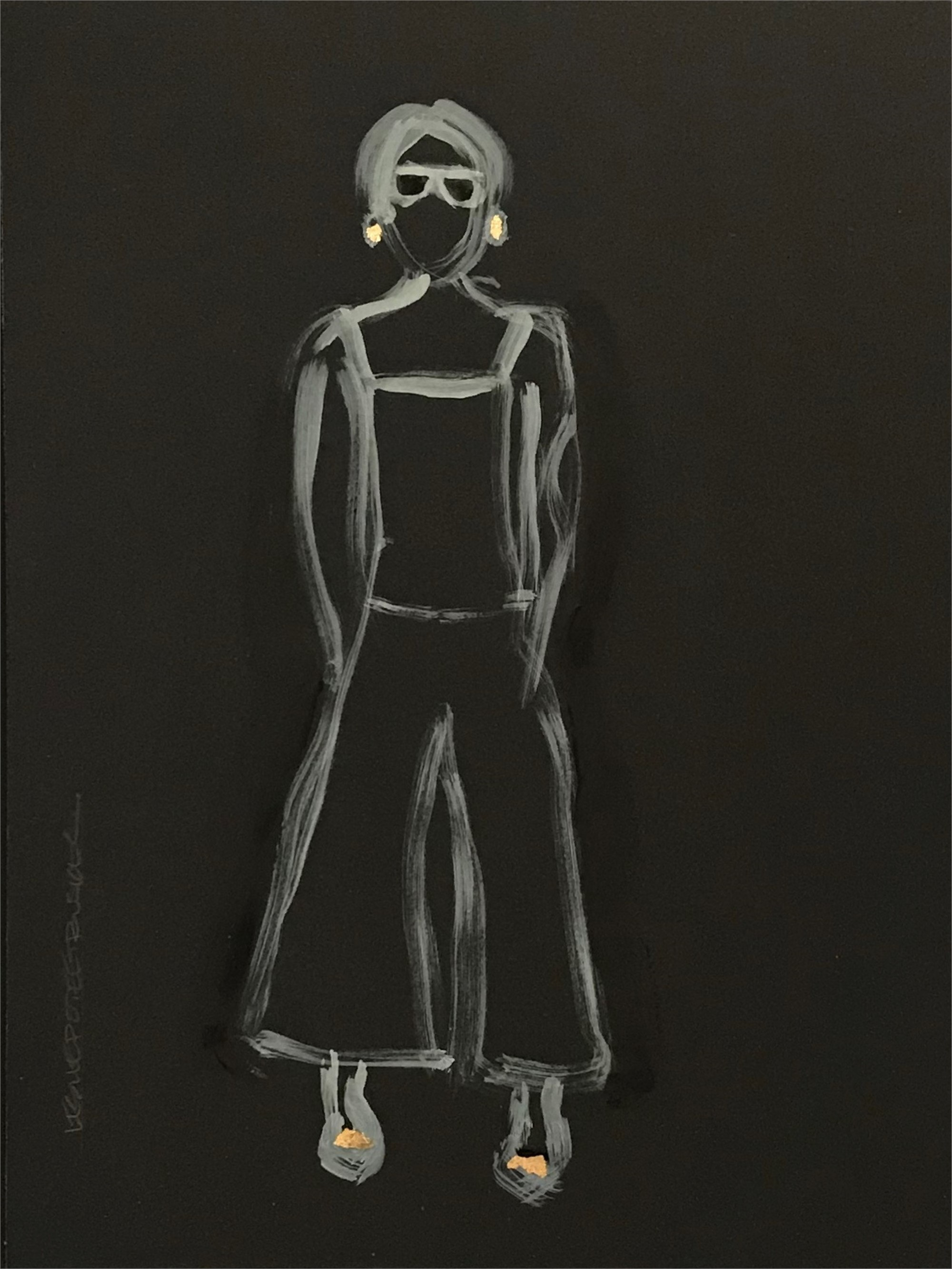 Figure No. 57 by Leslie Poteet Busker