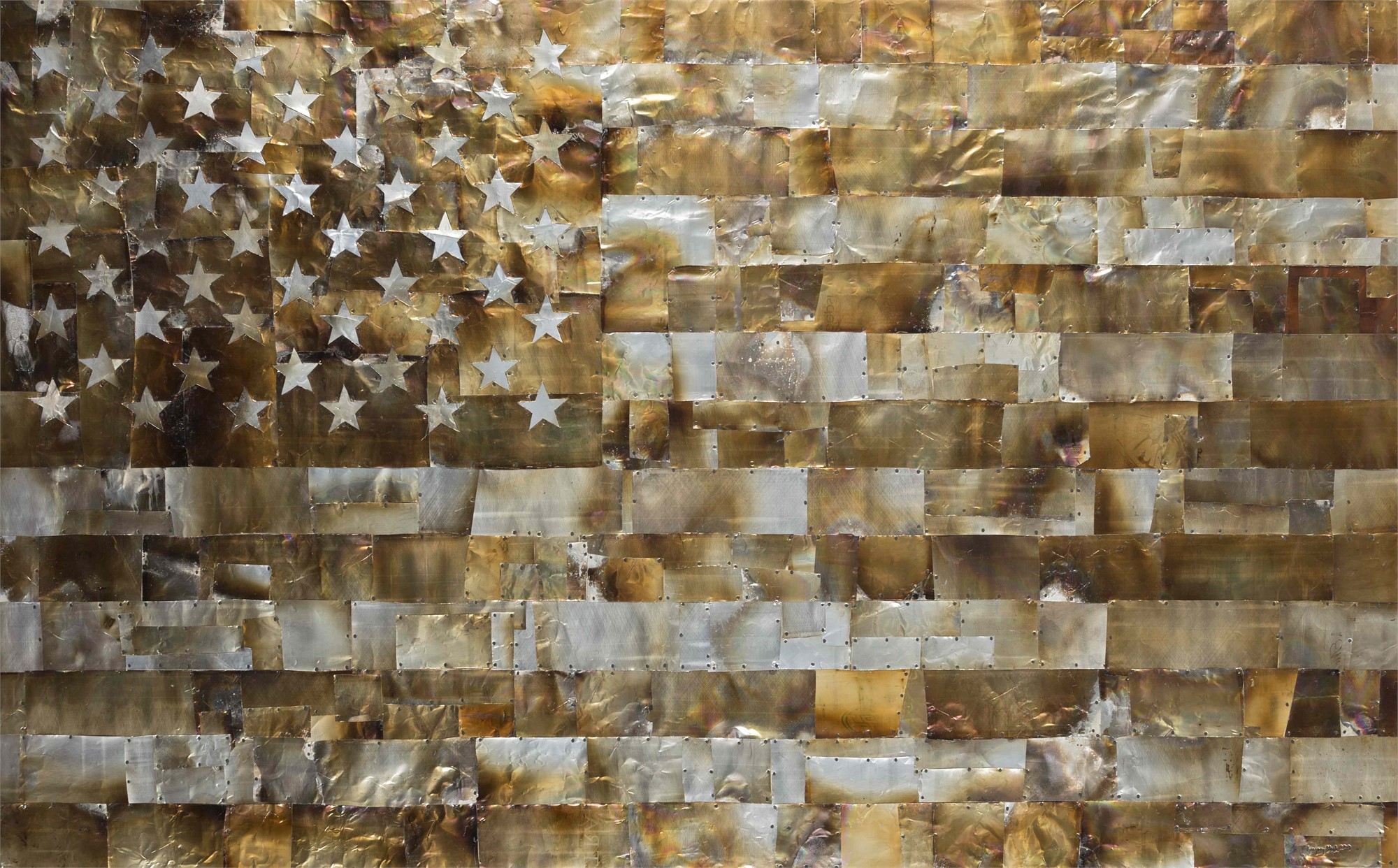 American Flag by Gregory Block
