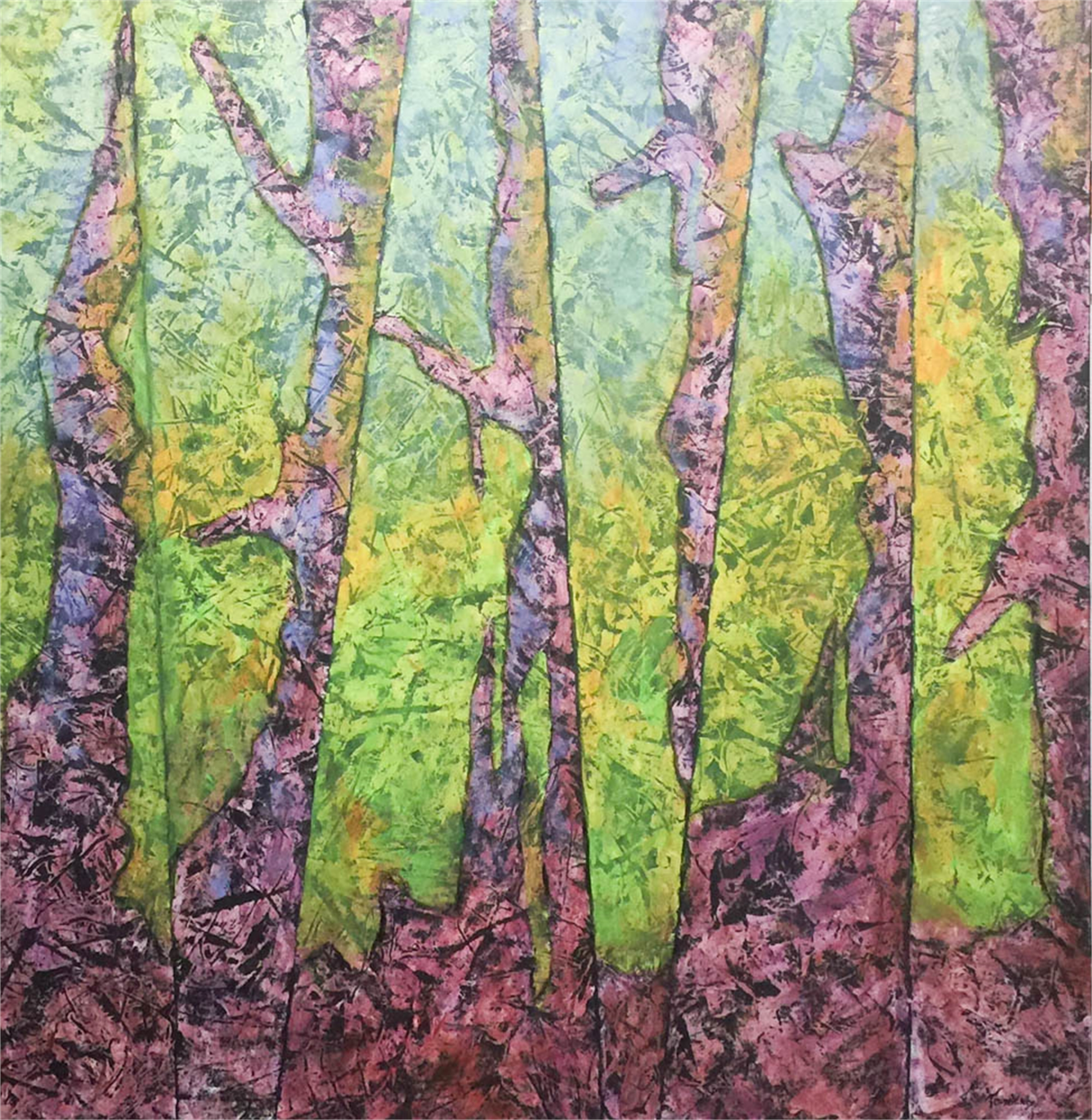 Abstract Forest 1 by John Townsend