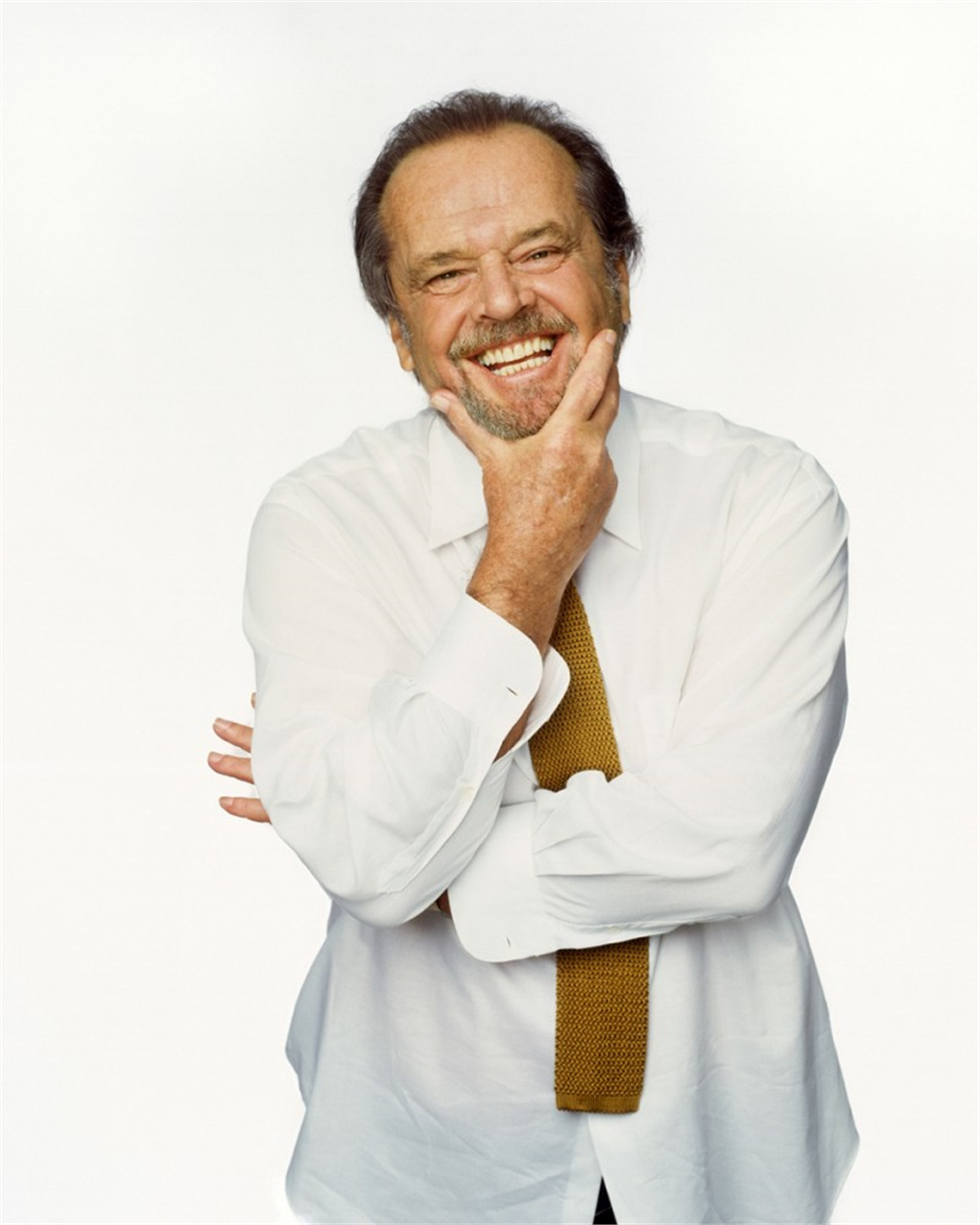 02006 Jack Nicholson Laughing Color by Timothy White