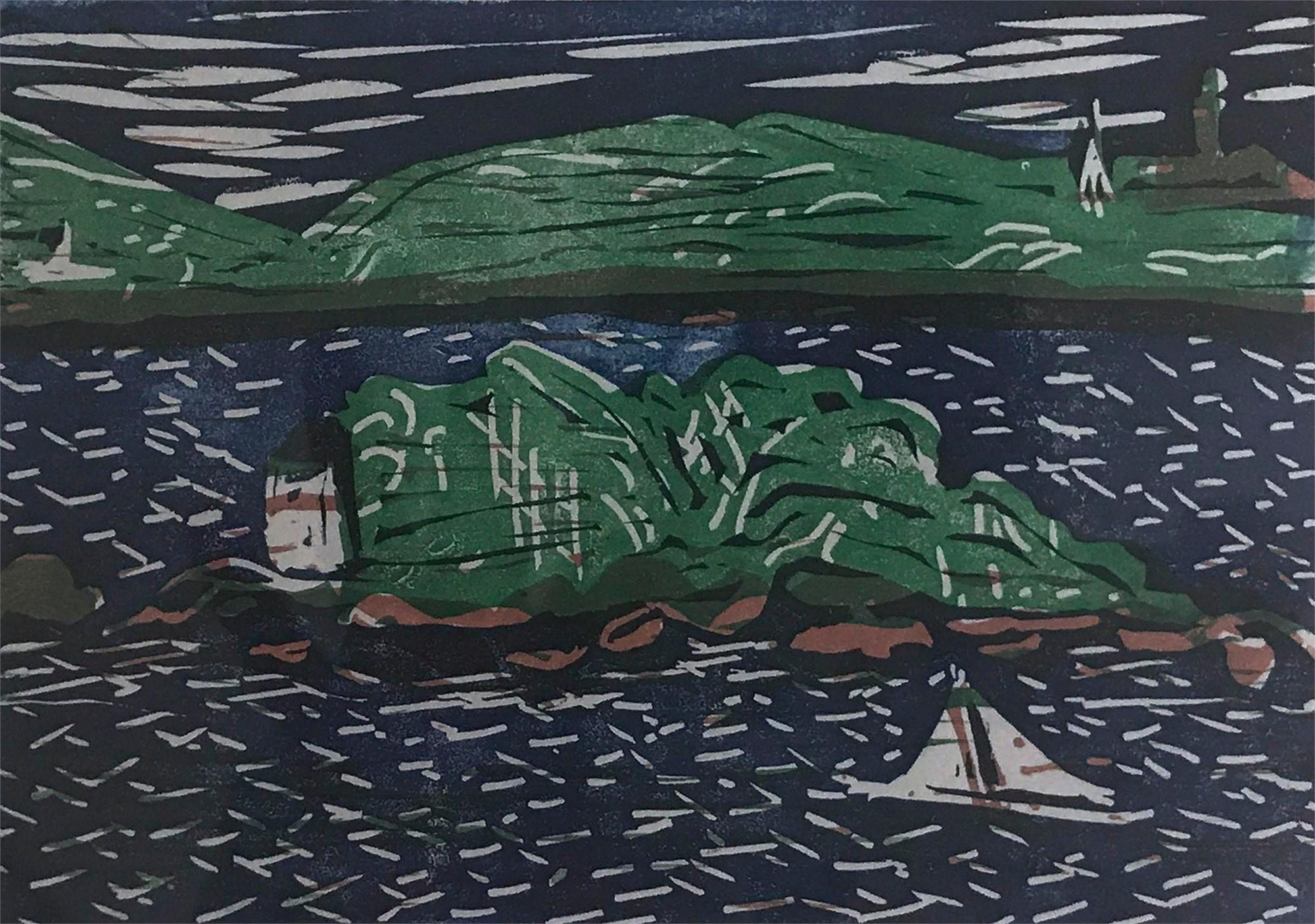 Sailing Past 10 Pound Island (3/5), 2019