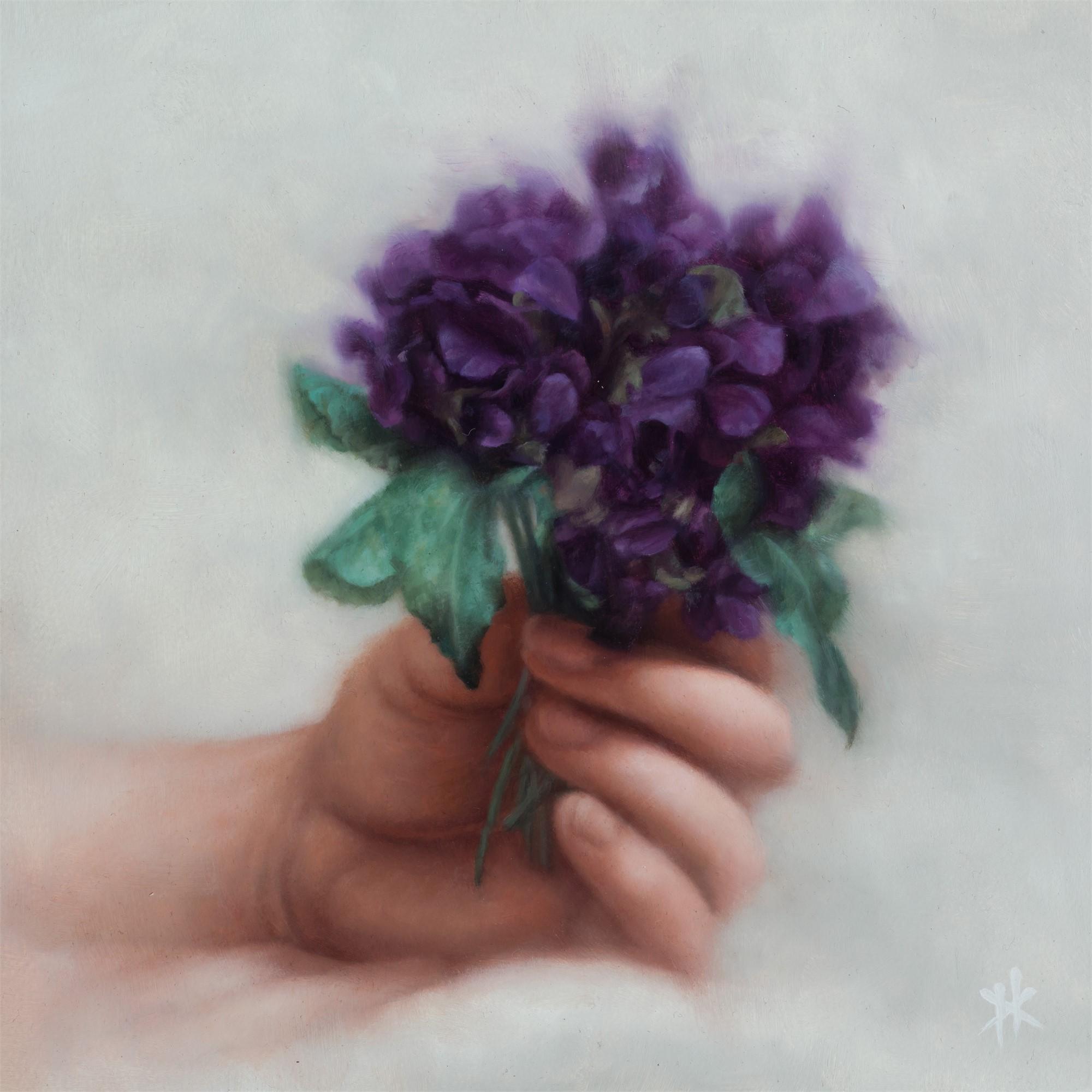 Violets by Patrick Kramer