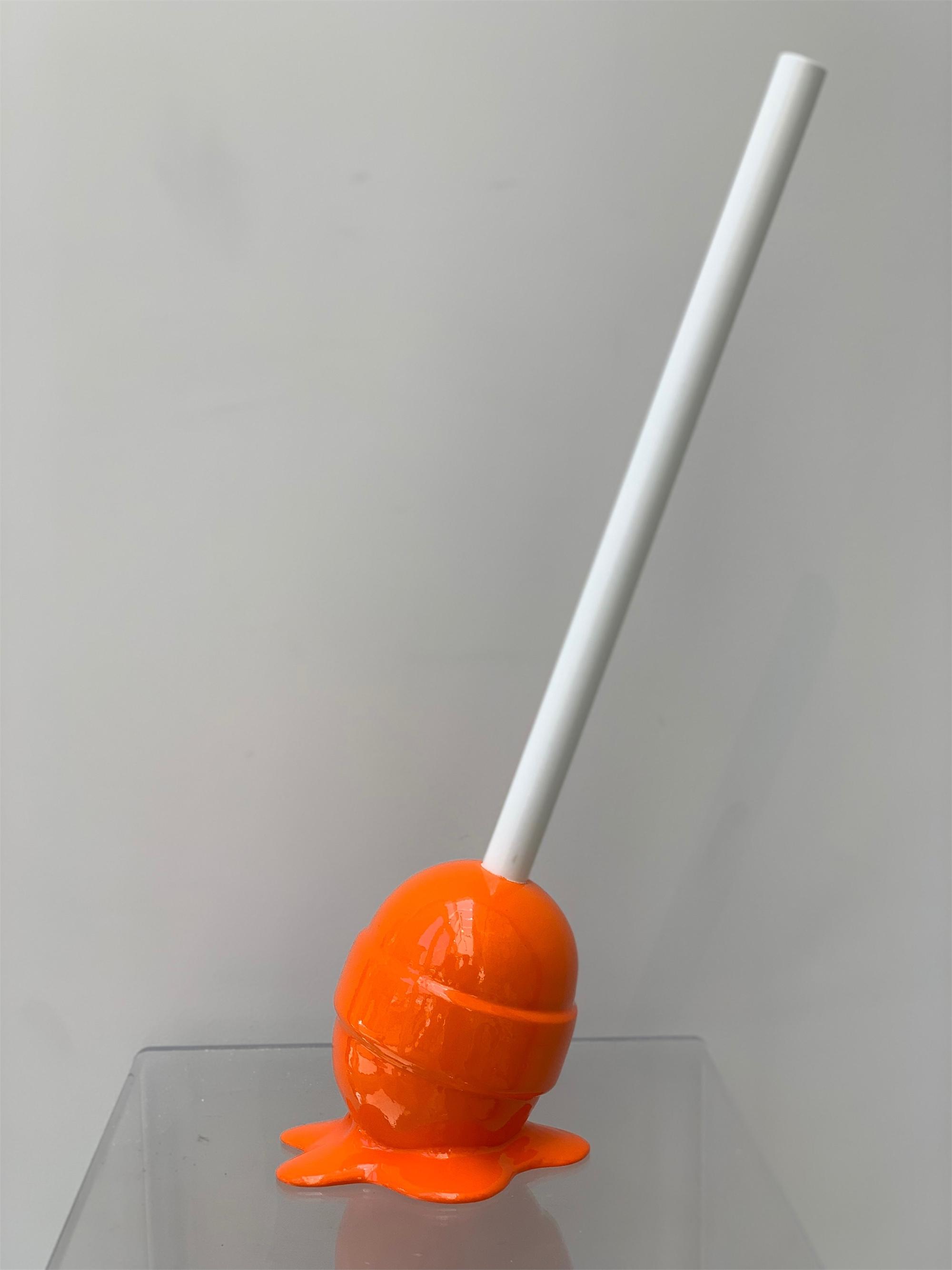 The Sweet Life Small Orange lollipop by Elena Bulatova