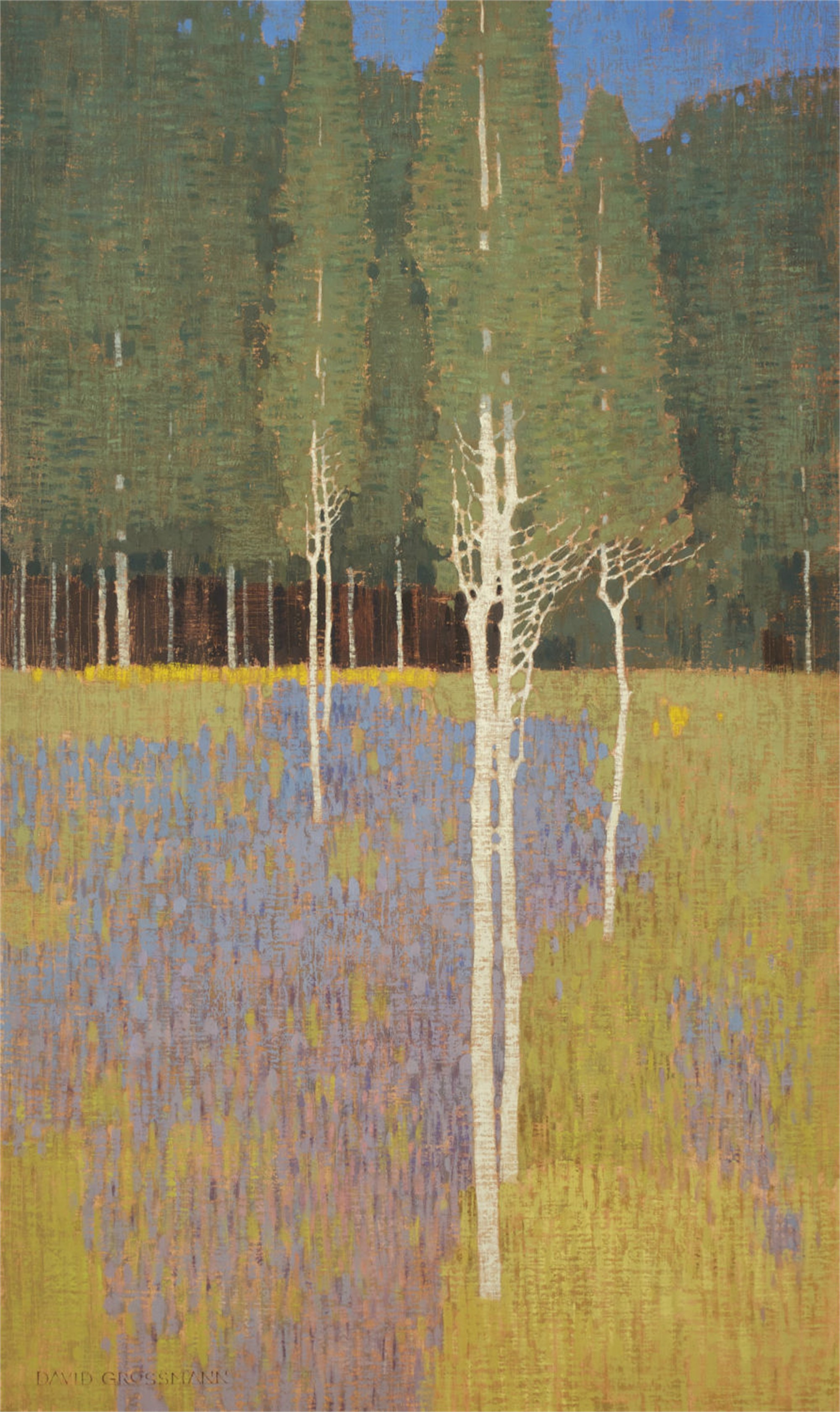 Flower Patterns and Forest Edge Commission by David Grossmann