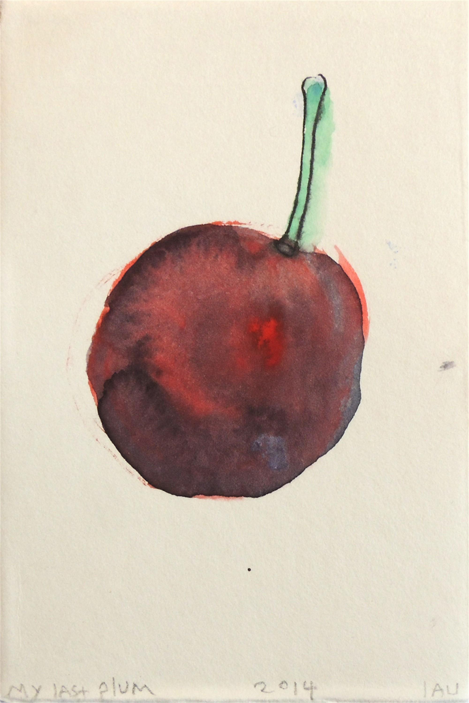 my last plum by Alan Lau