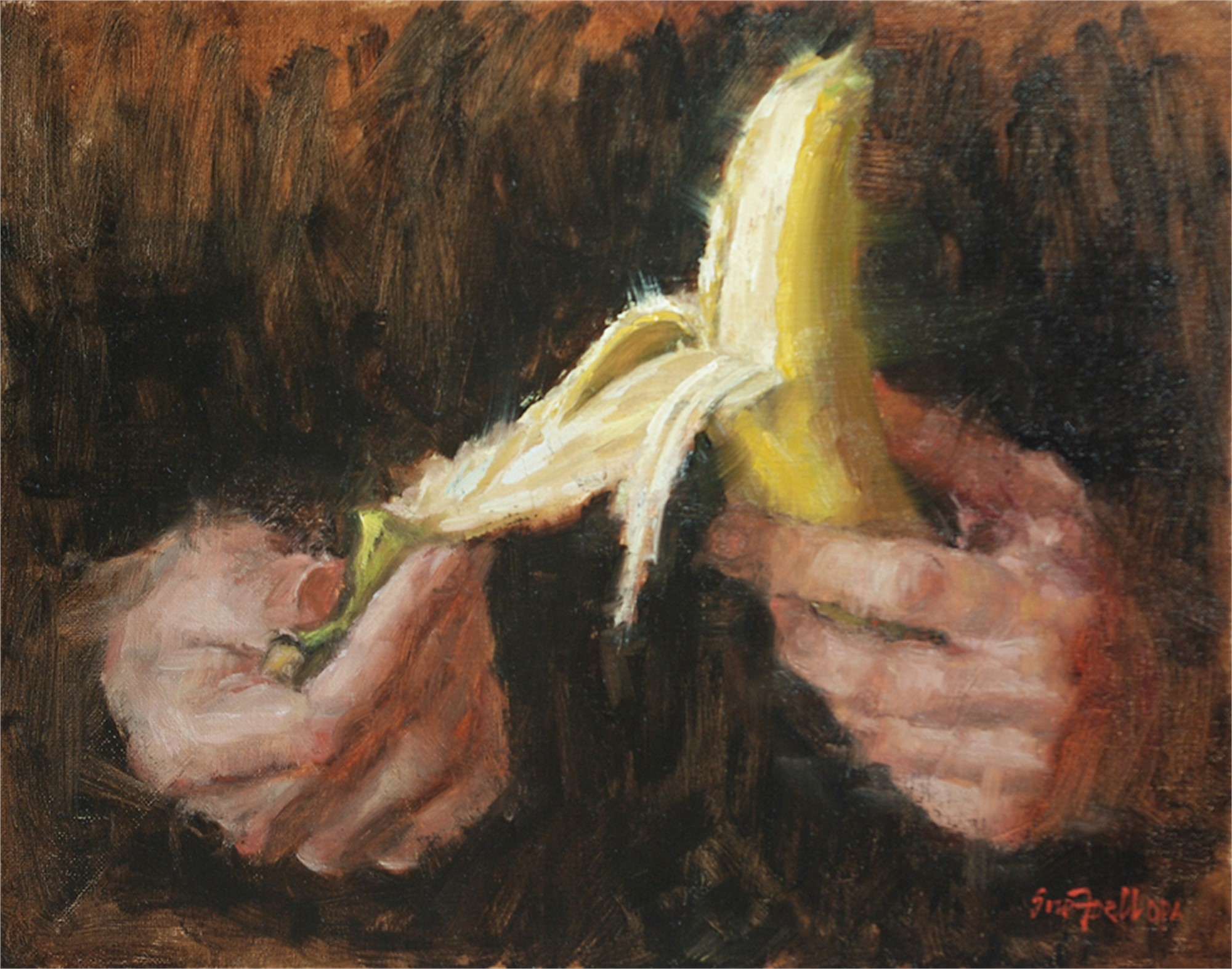 Banana Peel by Sue Foell, OPA