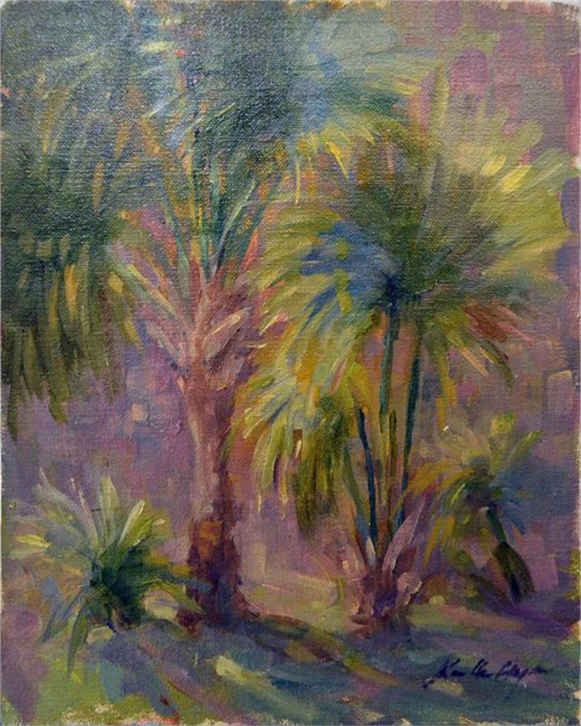 Abaco Palms by Karen Hewitt Hagan