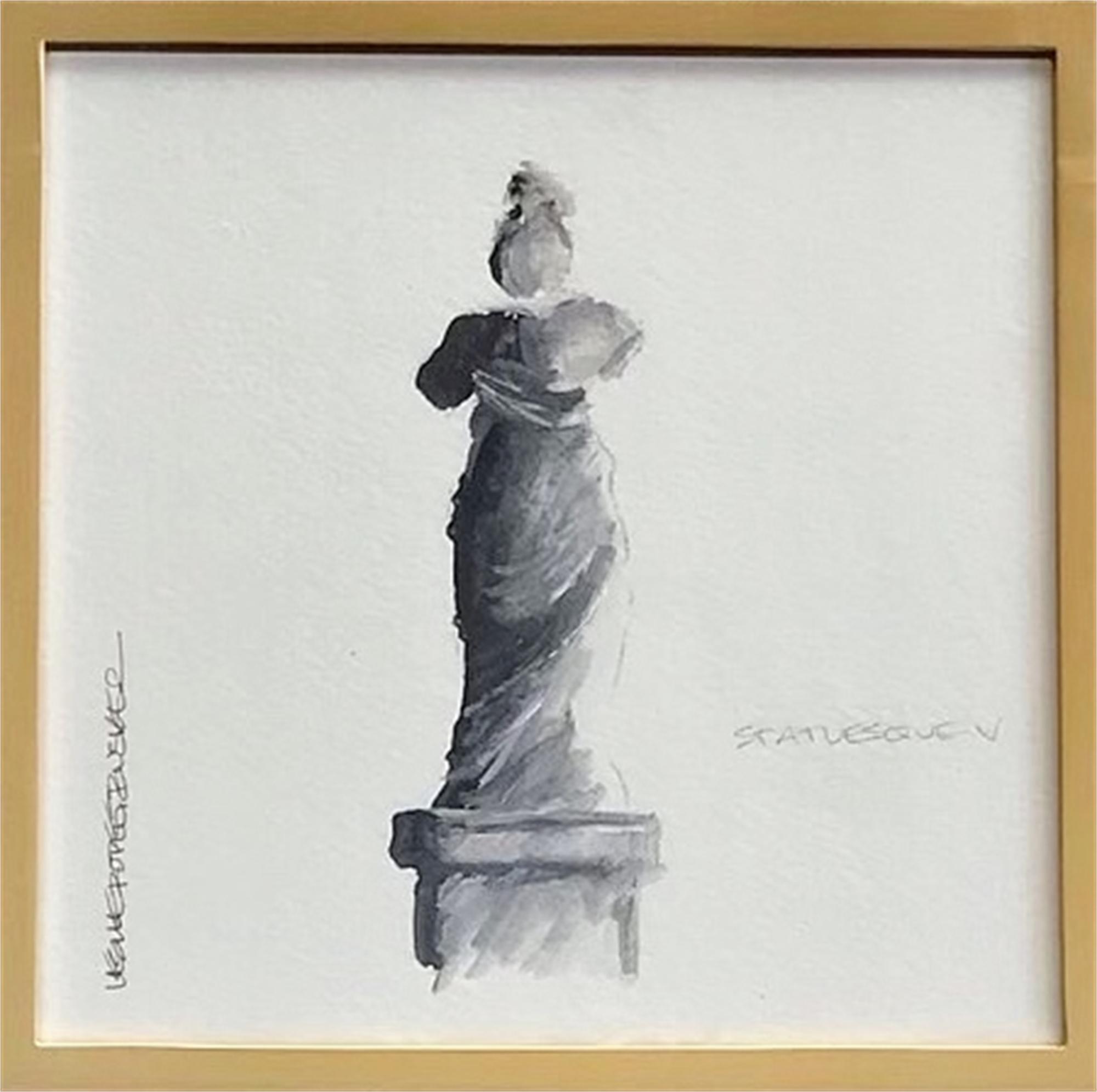 Statuesque V by Leslie Poteet Busker